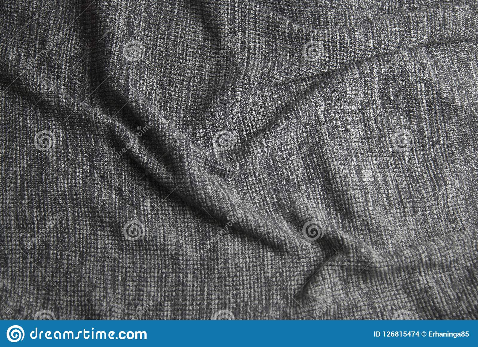 Soft Blanket Texture For Gray Knitted Blanket Soft And Warm Fabric Texture Copy Space Autumn Fall Knitted Blanket And Warm Fabric Texture Space