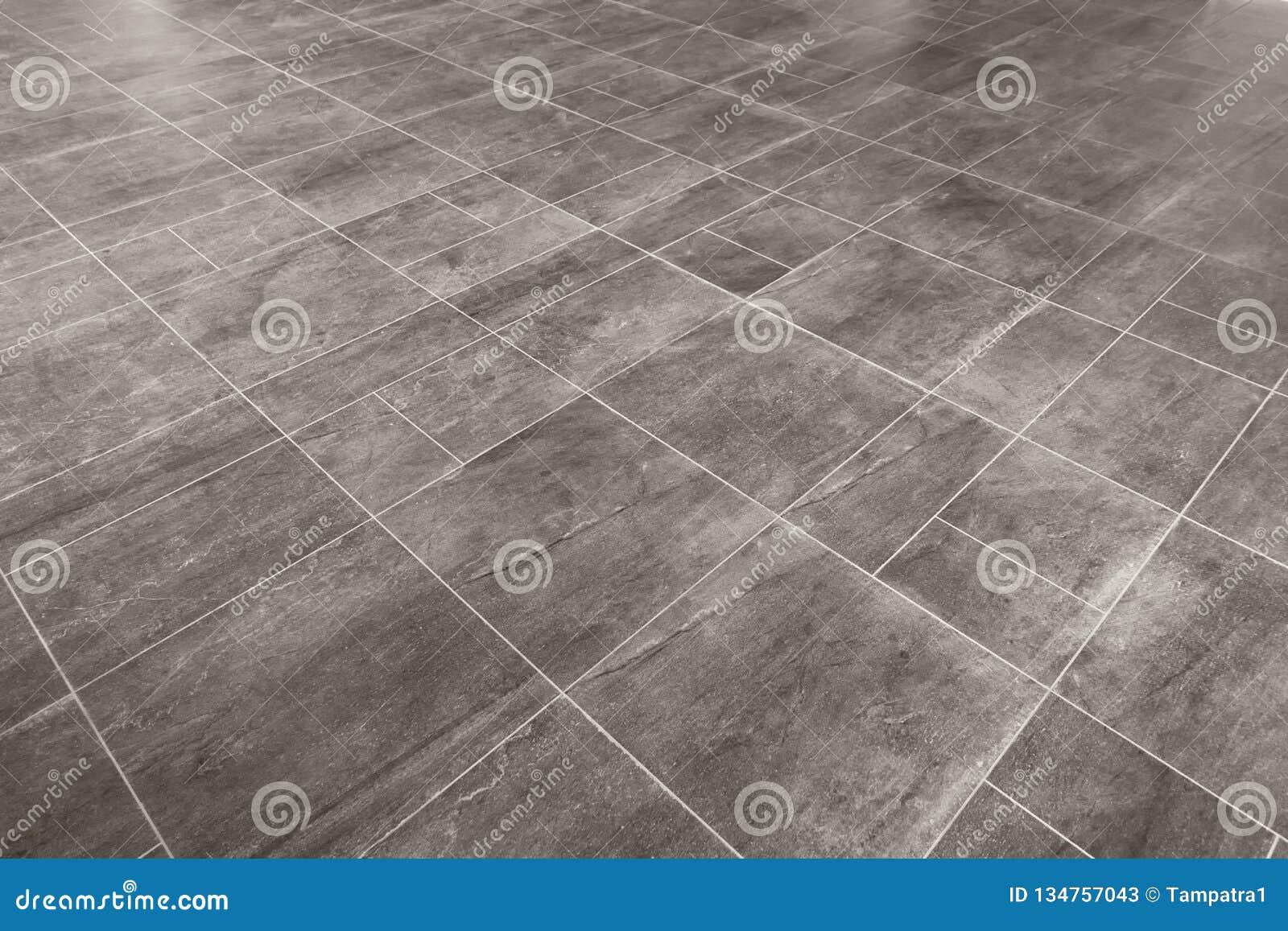 Gray Marble Rectangular Tiles Flooring Pattern Surface Texture Close Up Of Interior Design Decoration Background Stock Image Image Of Interior Block 134757043