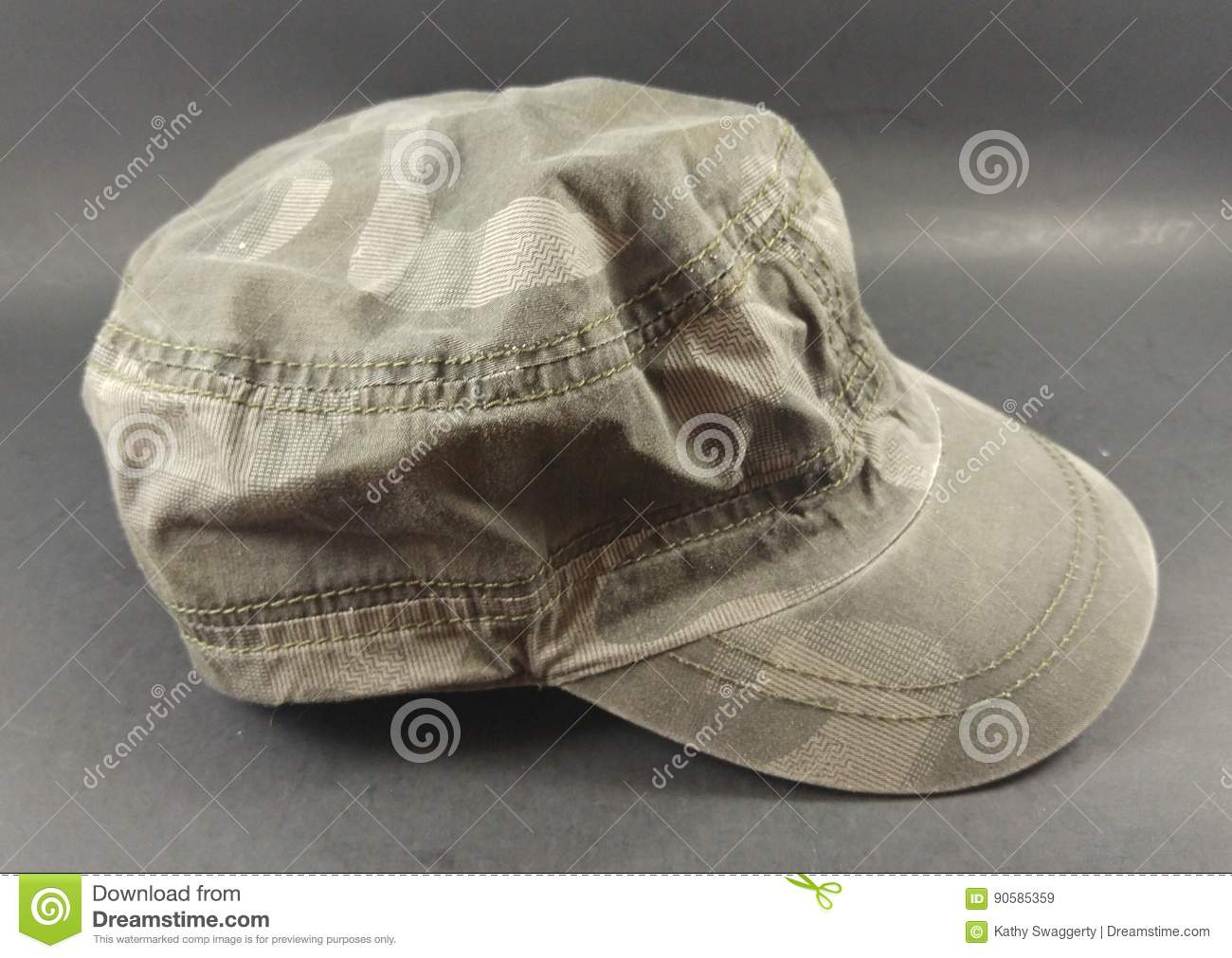 Gray Men  X27 s Train Conductor Style Hat Stock Image - Image of ... 2a4b5b46837