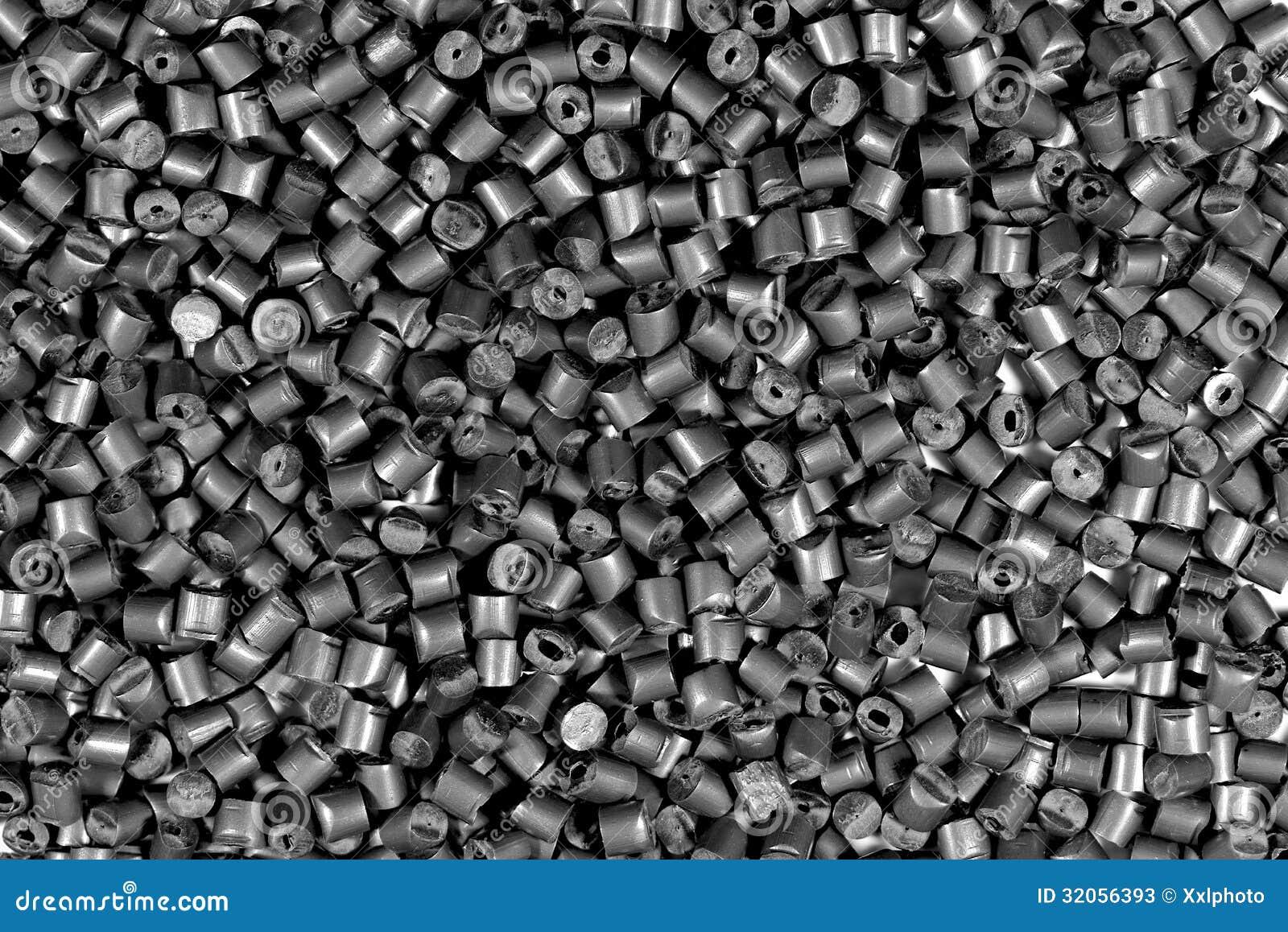 Gray metallic polymer