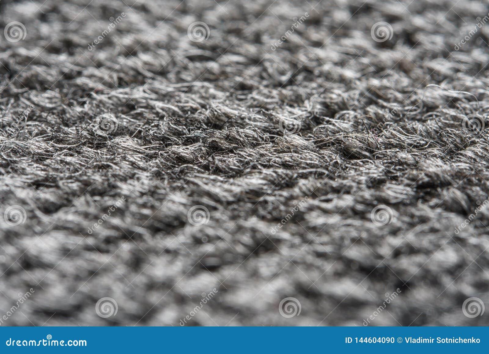 Gray Nylon Carpet Texture