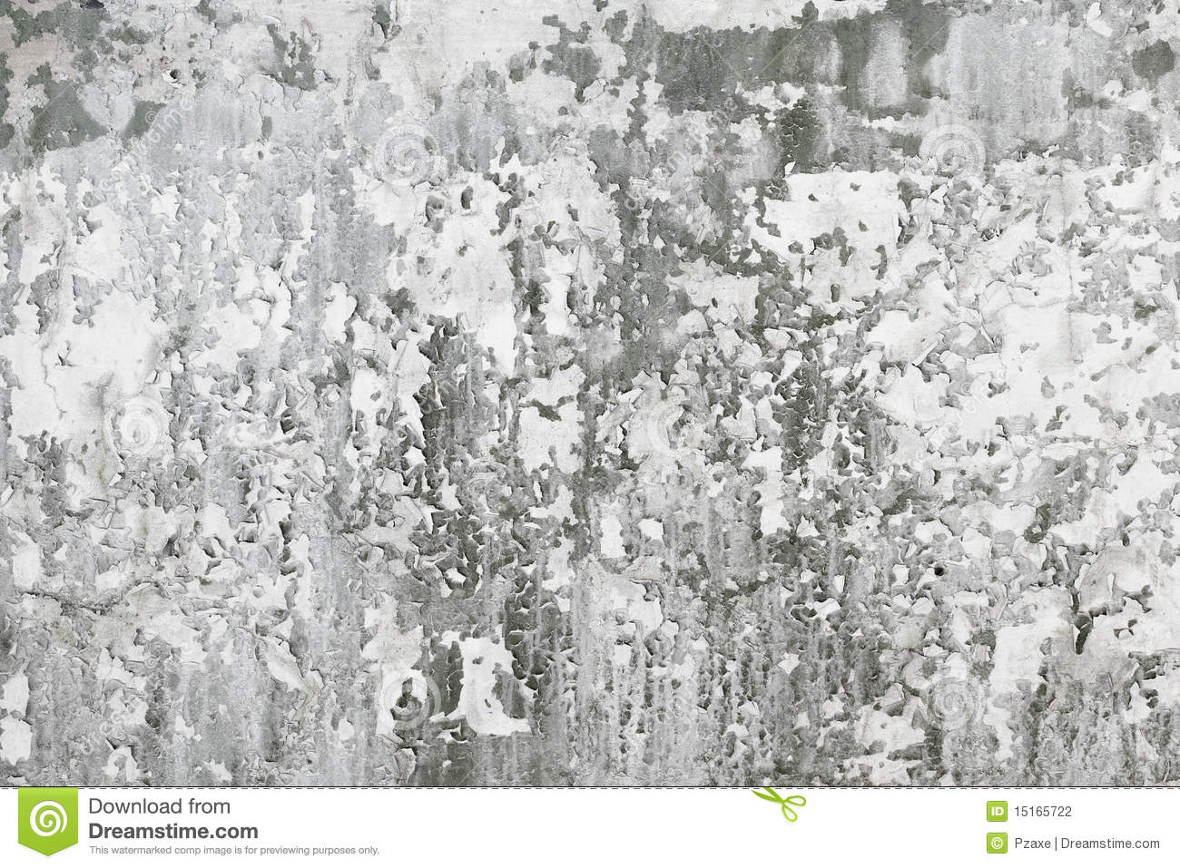 Gray old concrete wall with dirt stains stock photography for Removing dirt stains from concrete
