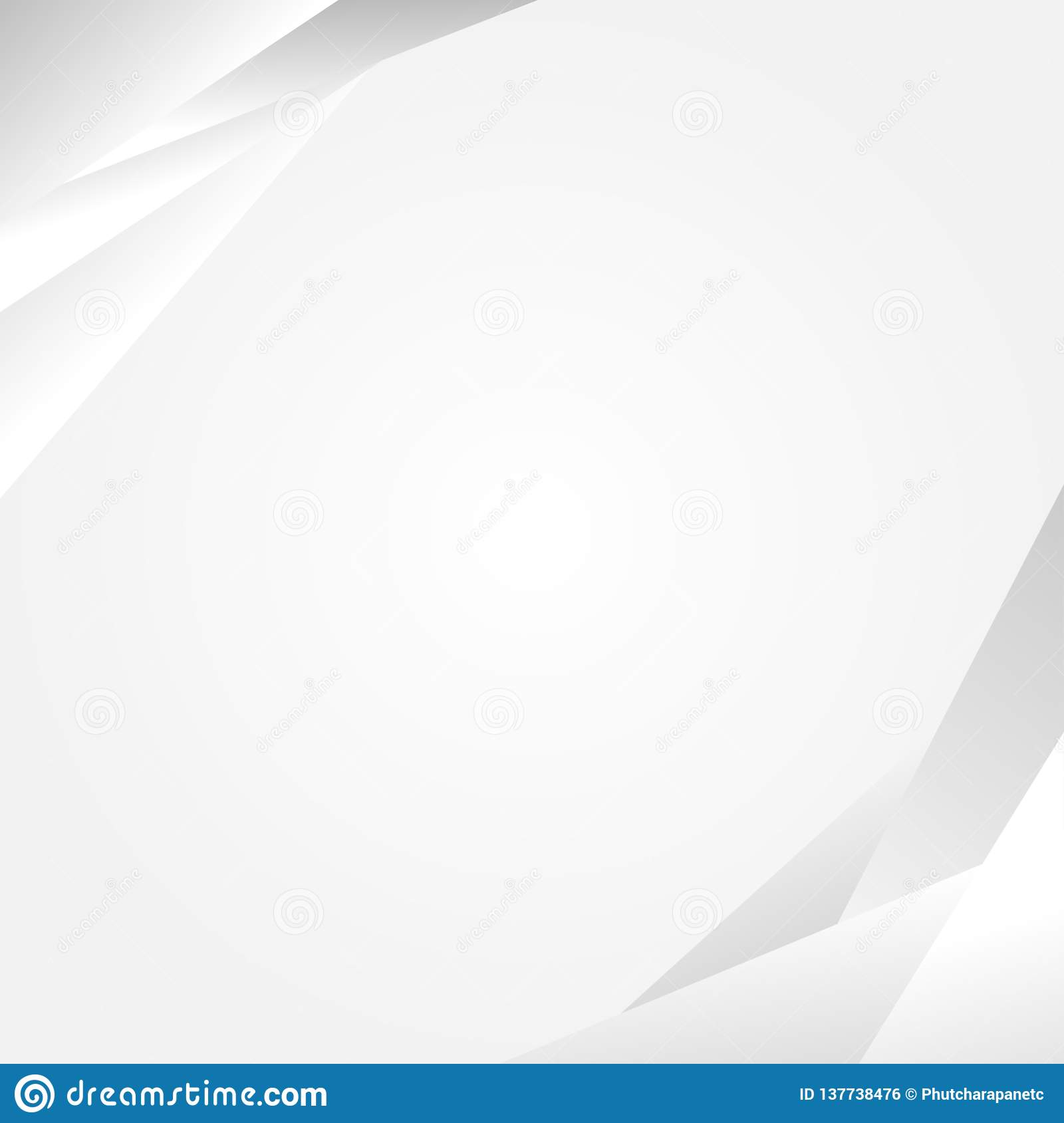 Gray shape concept abstract vector background