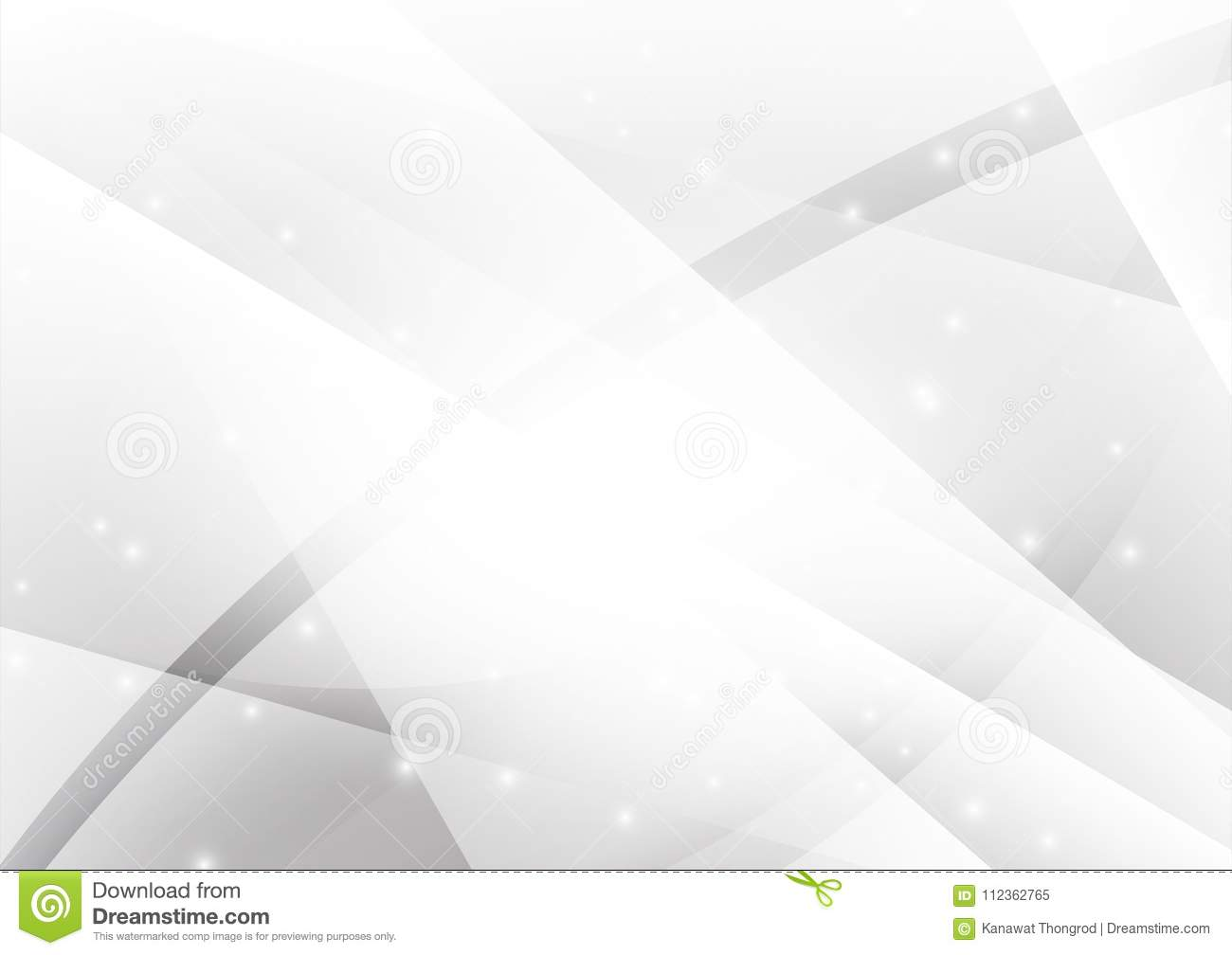 Gray and Silver geometric abstract vector background with copy space, Graphic design