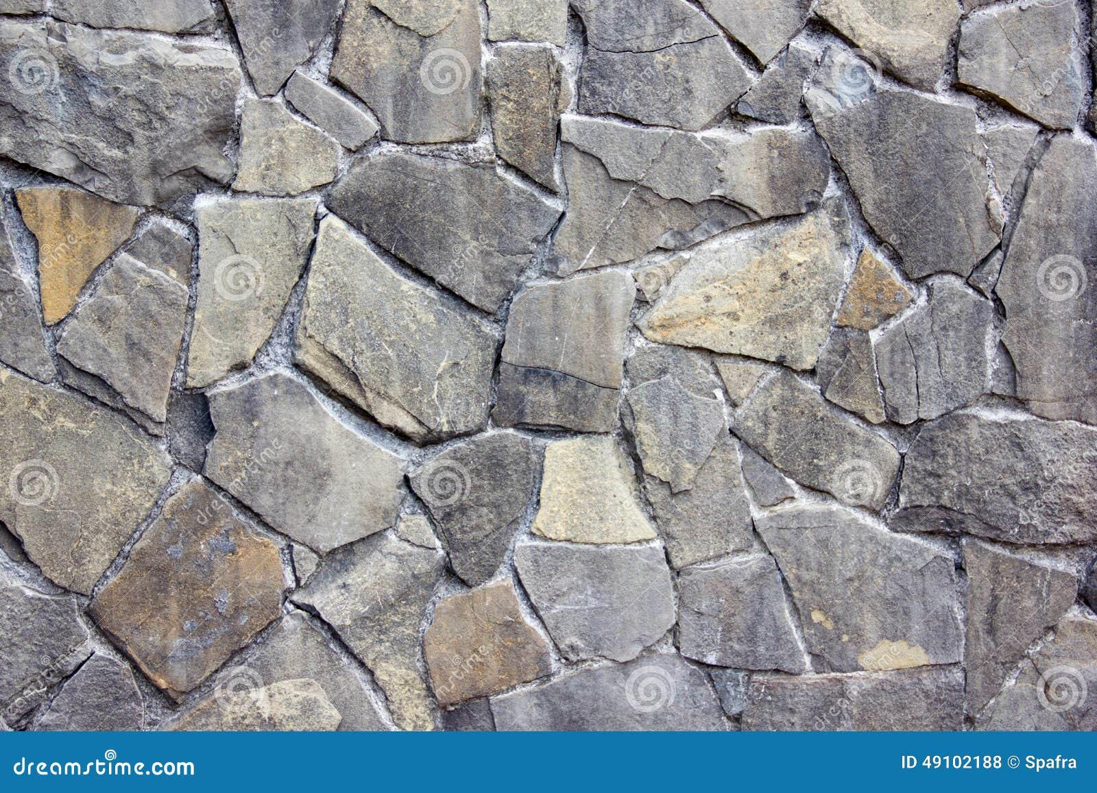 Gray stone walls