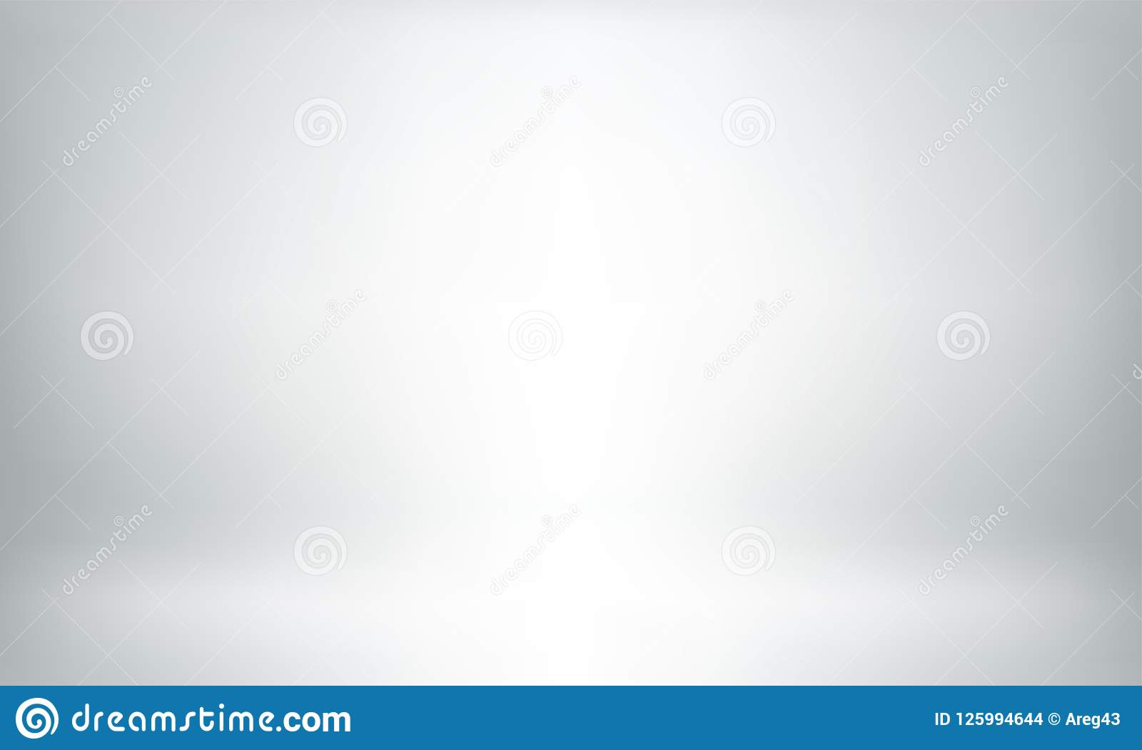 gray studio background or backdrop 3d room lightbox stock vector