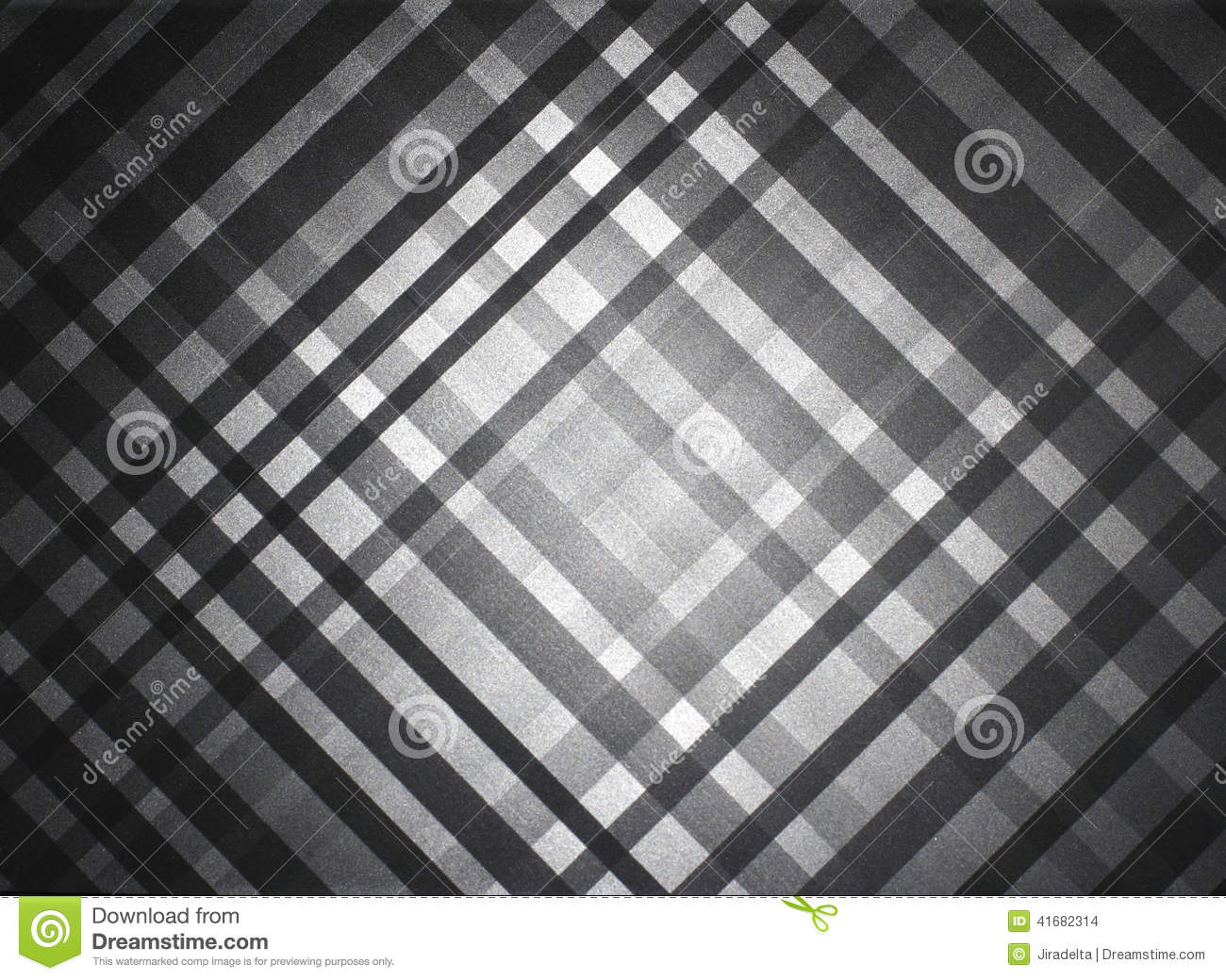 Gray Table Pattern preto