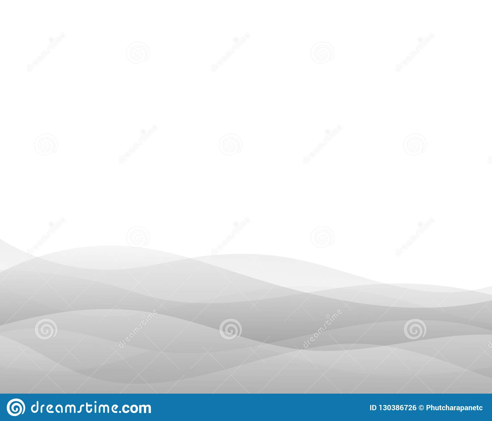 Gray wave concept abstract vector background