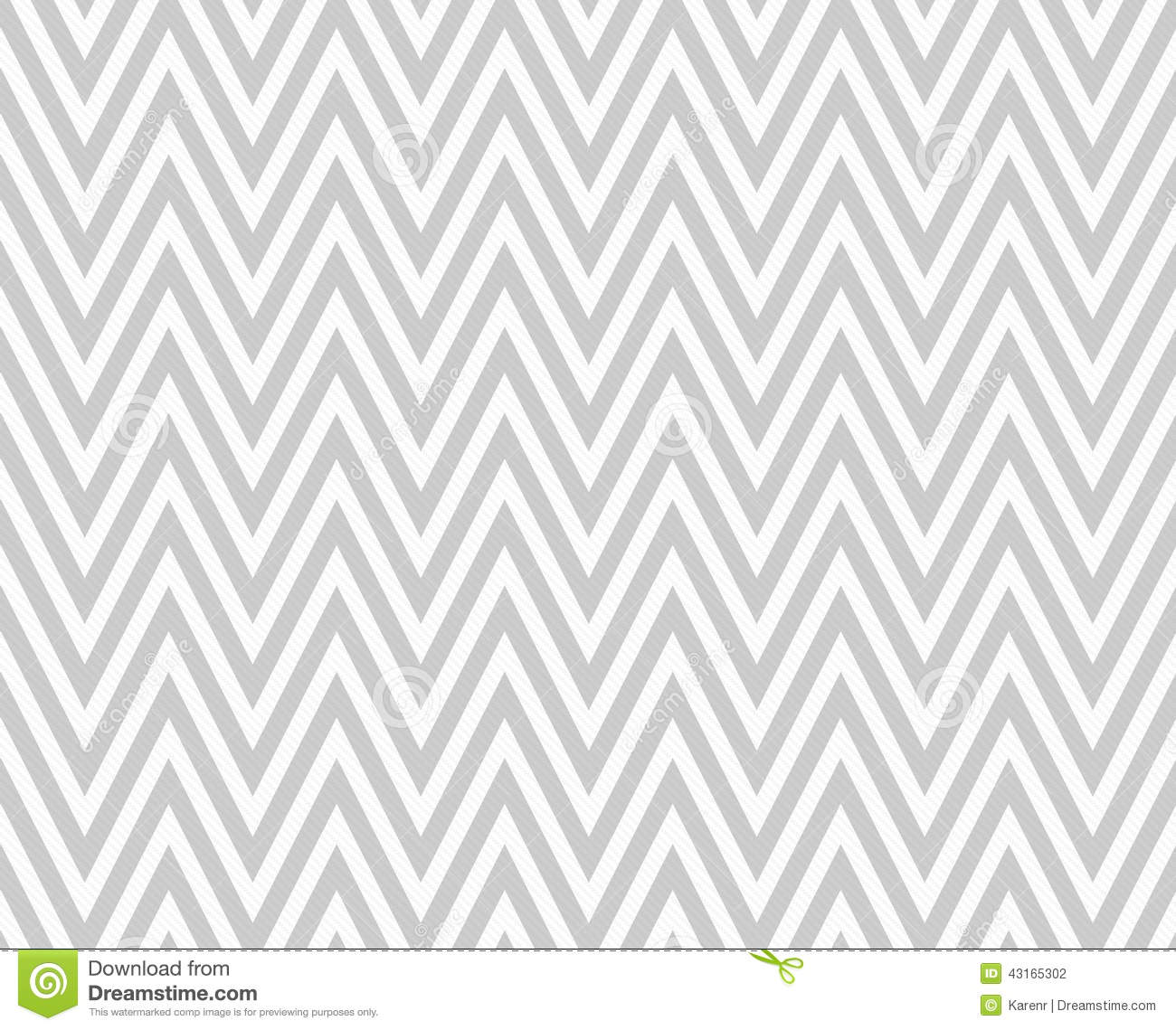 Gray And White Zigzag Textured Fabric Repeat Pattern