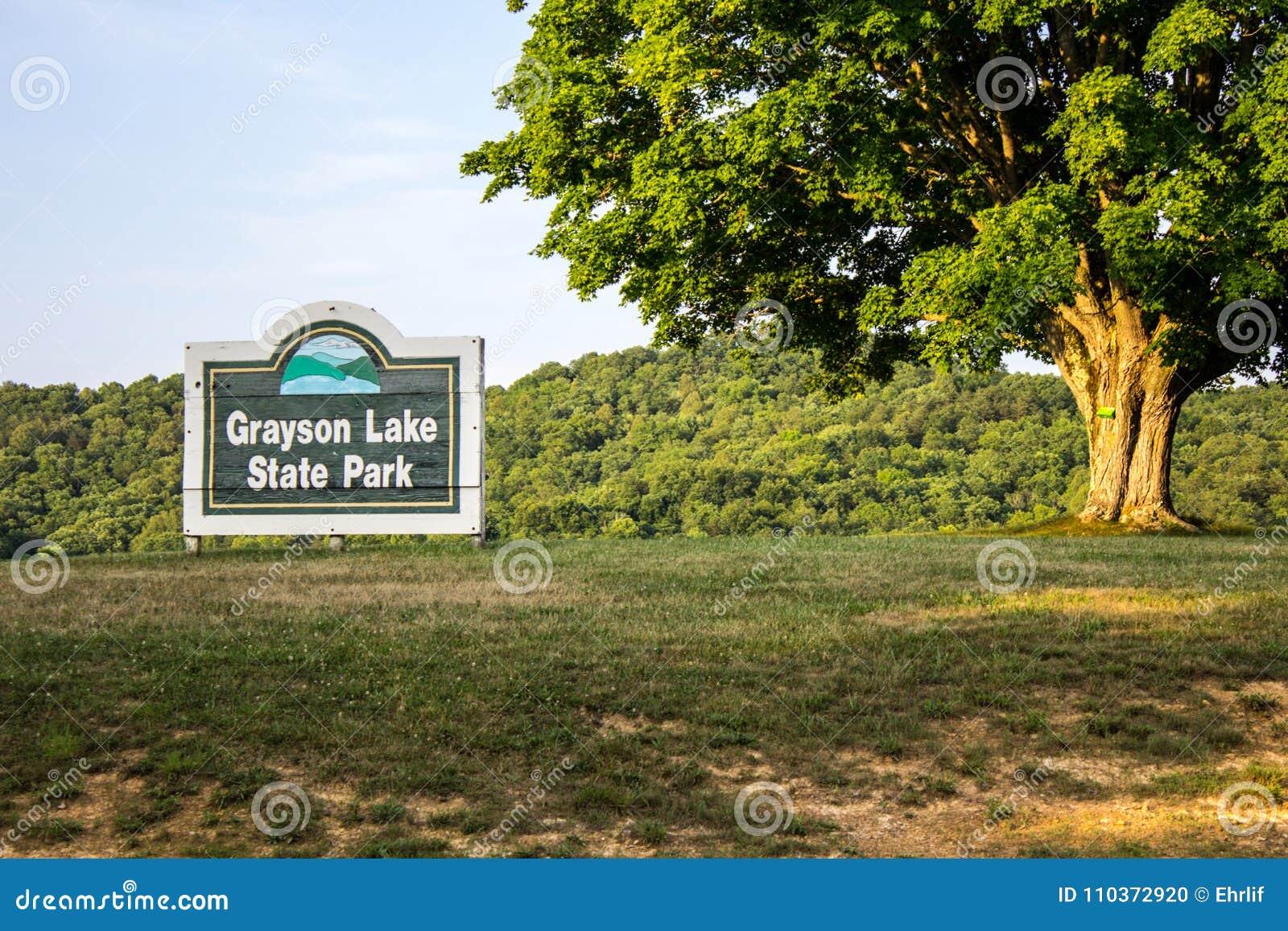 Grayson Lake State Park In Kentucky