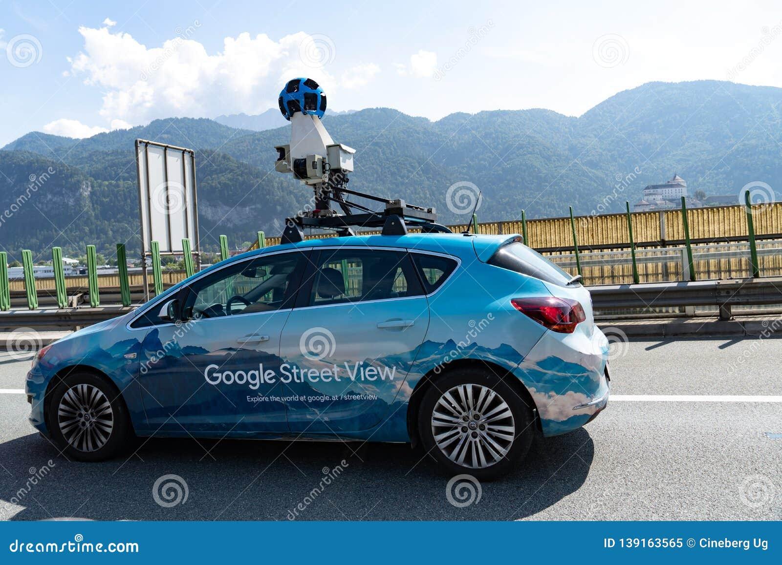 Google Street View Car editorial image  Image of google