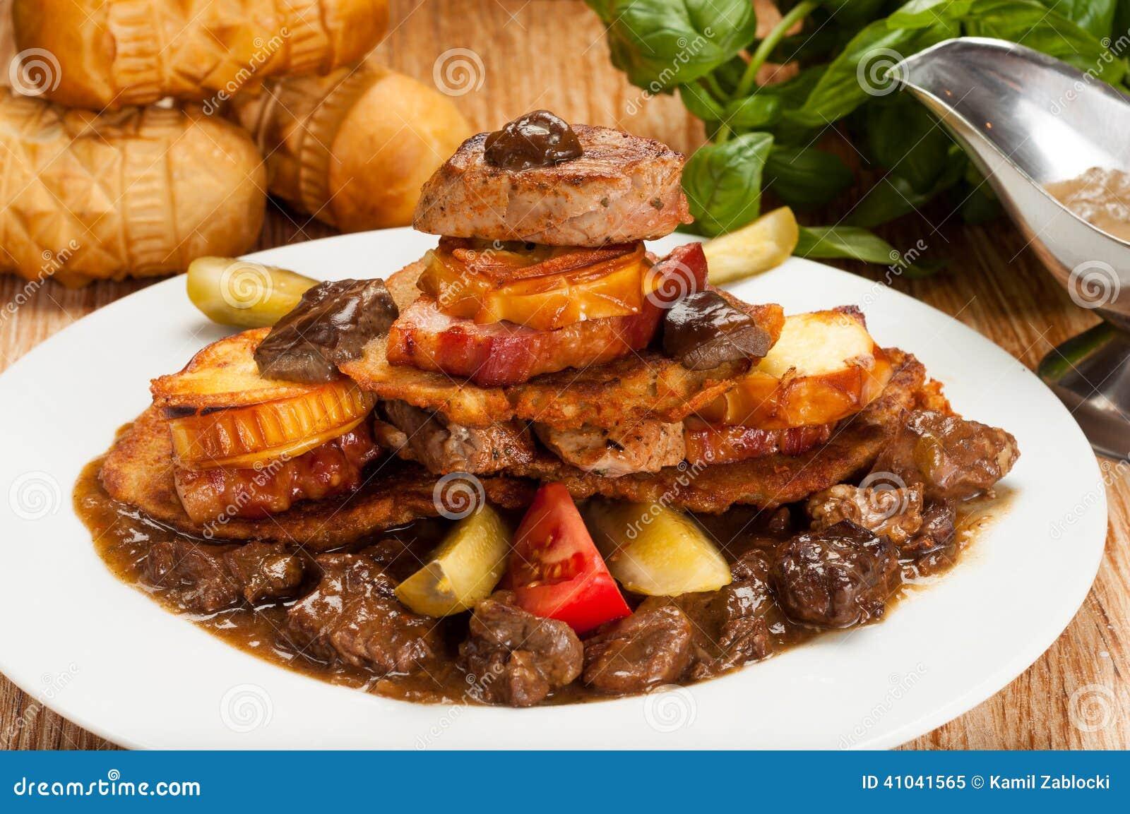 Greasy Unhealthy Food Stock Photo - Image: 41041565