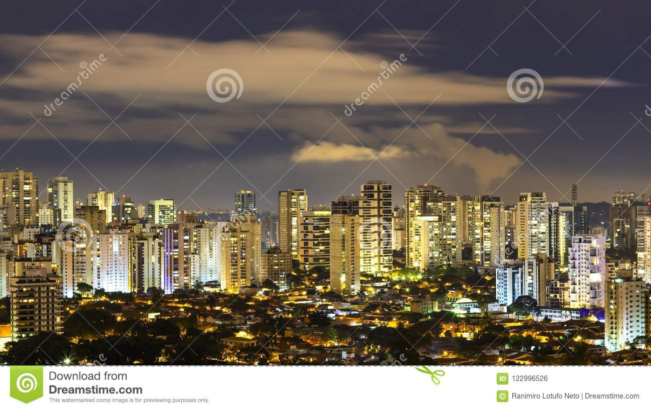 Great cities at night