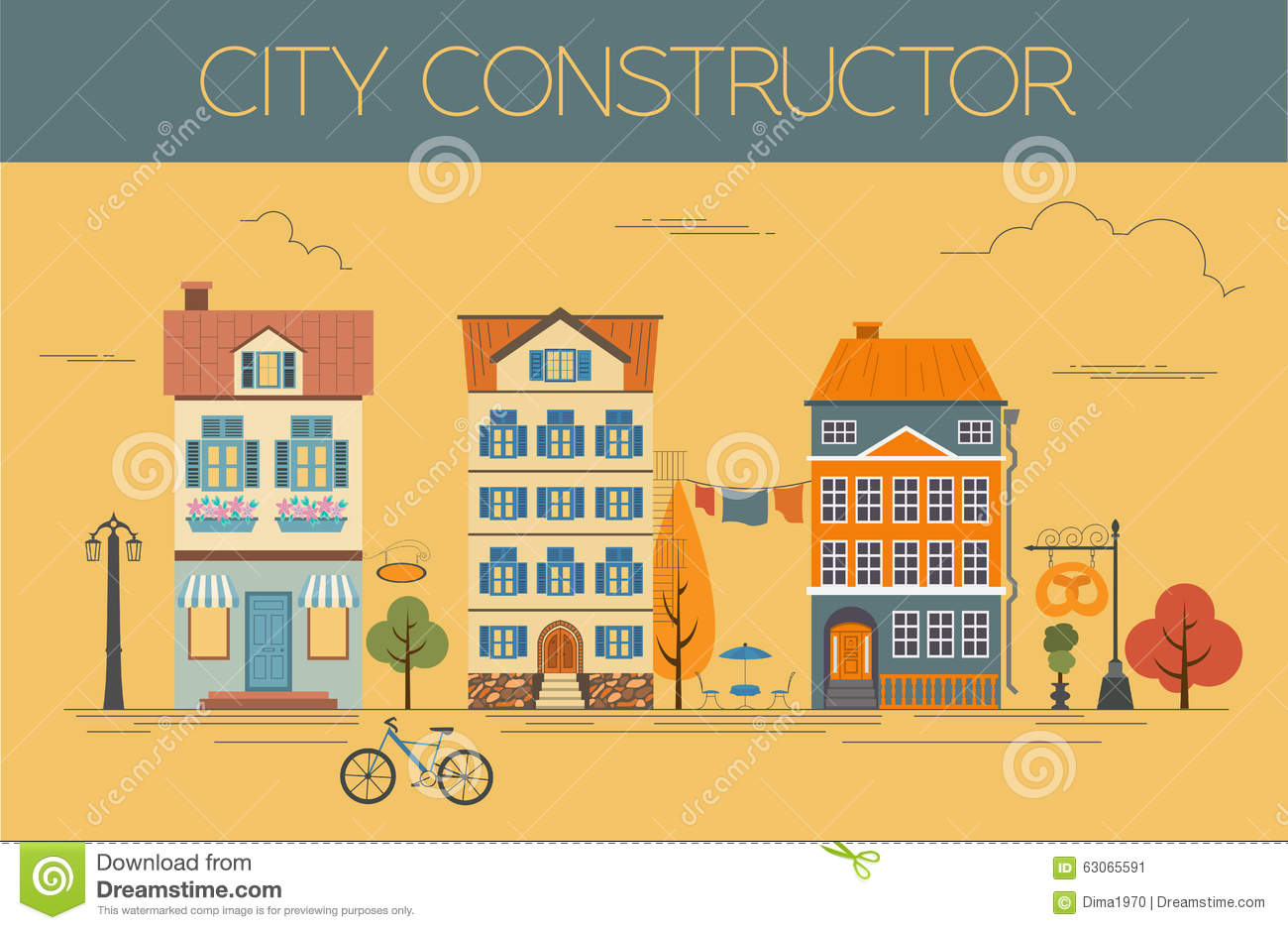 Great city map creator colour version house constructor for House map creator