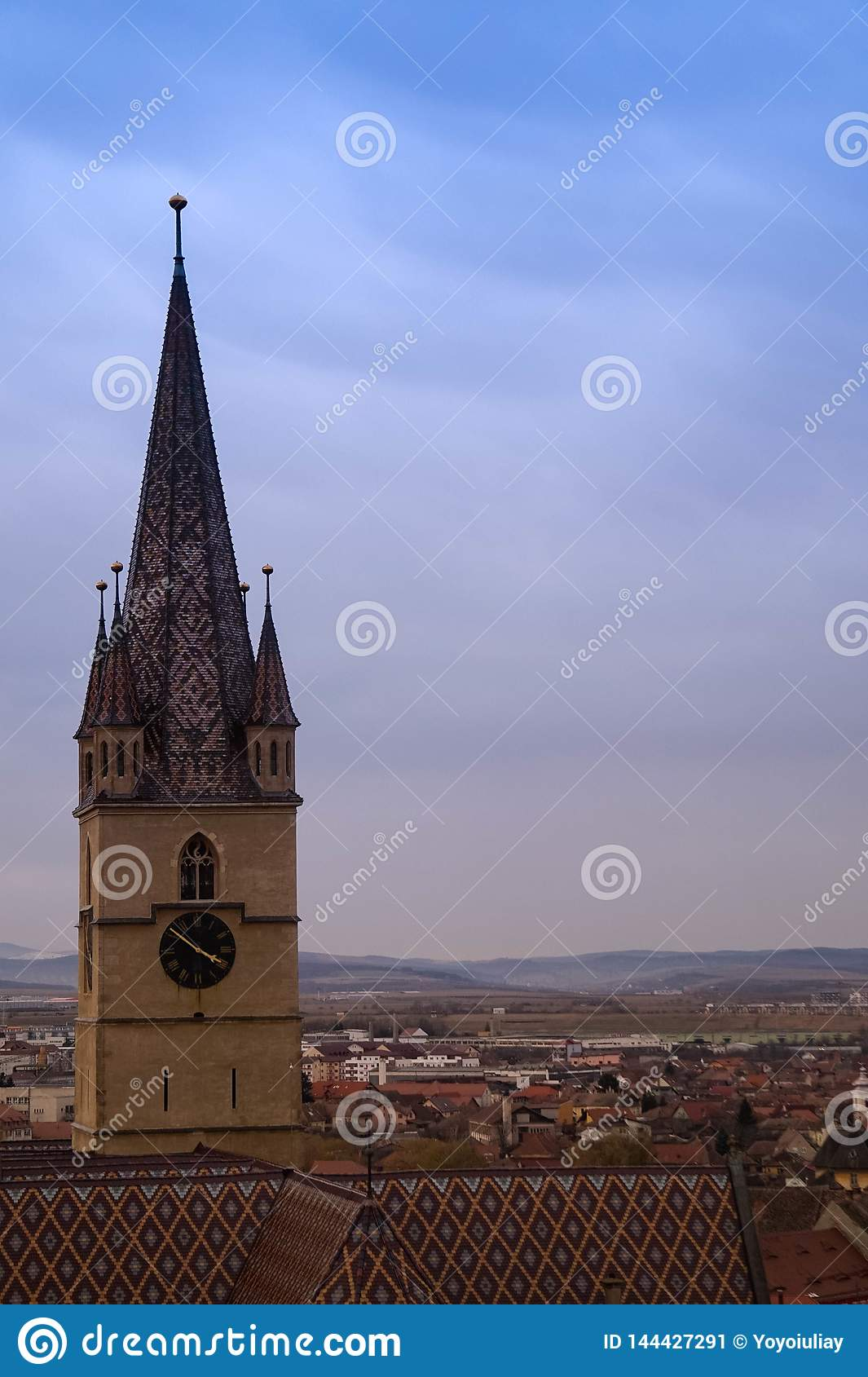 The great clock tower