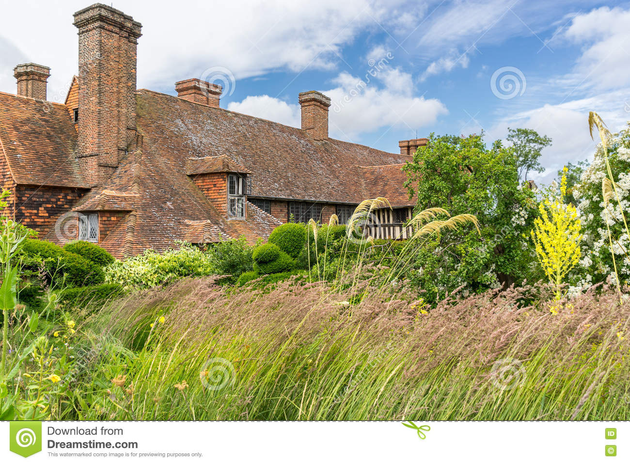 Great Dixter House Gardens And Nursery Editorial Image Image Of