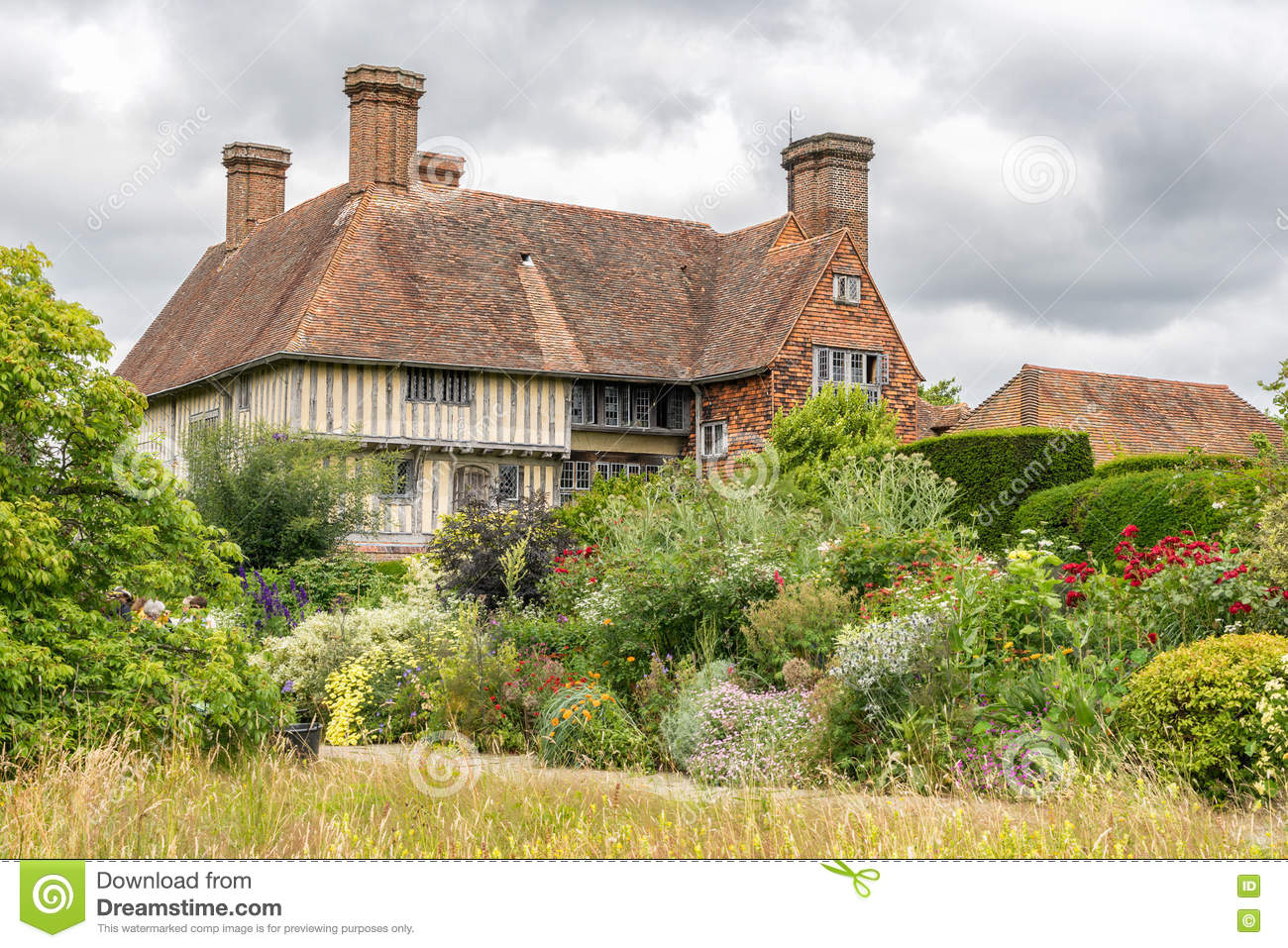 Great Dixter House Gardens And Nursery Editorial Stock Image