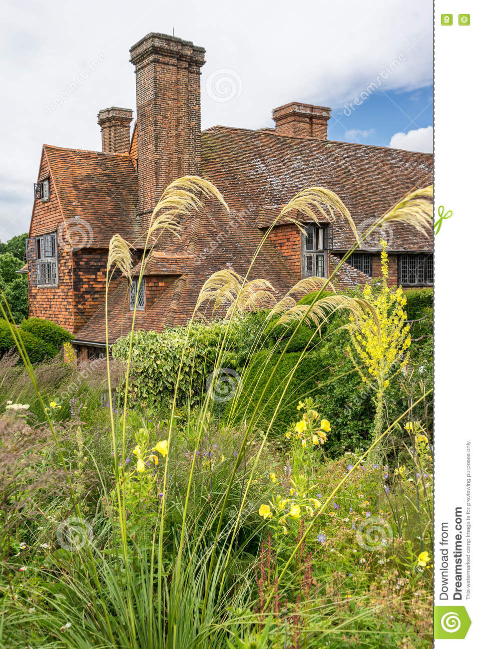 Great Dixter House Gardens And Nursery Editorial Photography