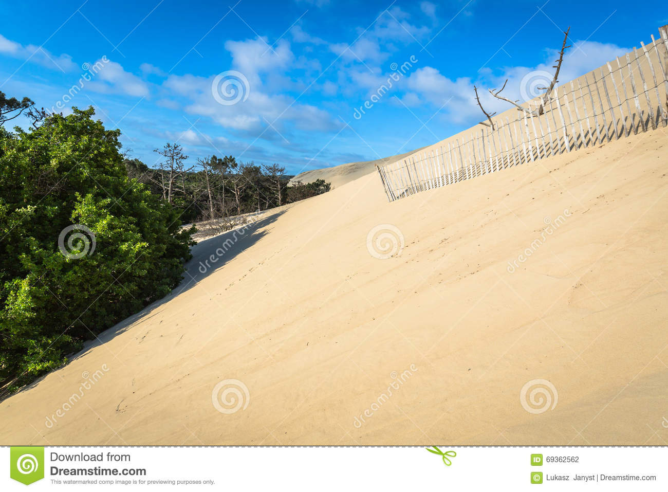 Great Dune Of Pyla The Tallest Sand Dune In Europe Arcachon Ba