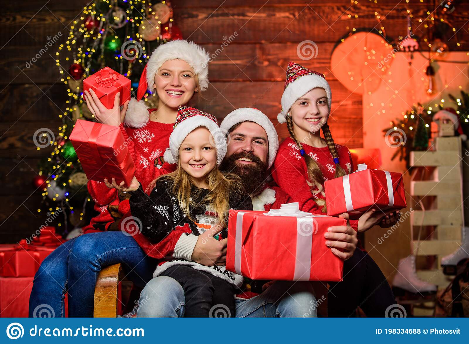 339 Happy Girls Open Gifts Christmas Photos Free Royalty Free Stock Photos From Dreamstime