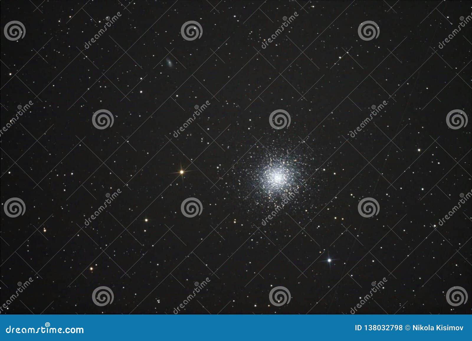 Great globular cluster in Hercules
