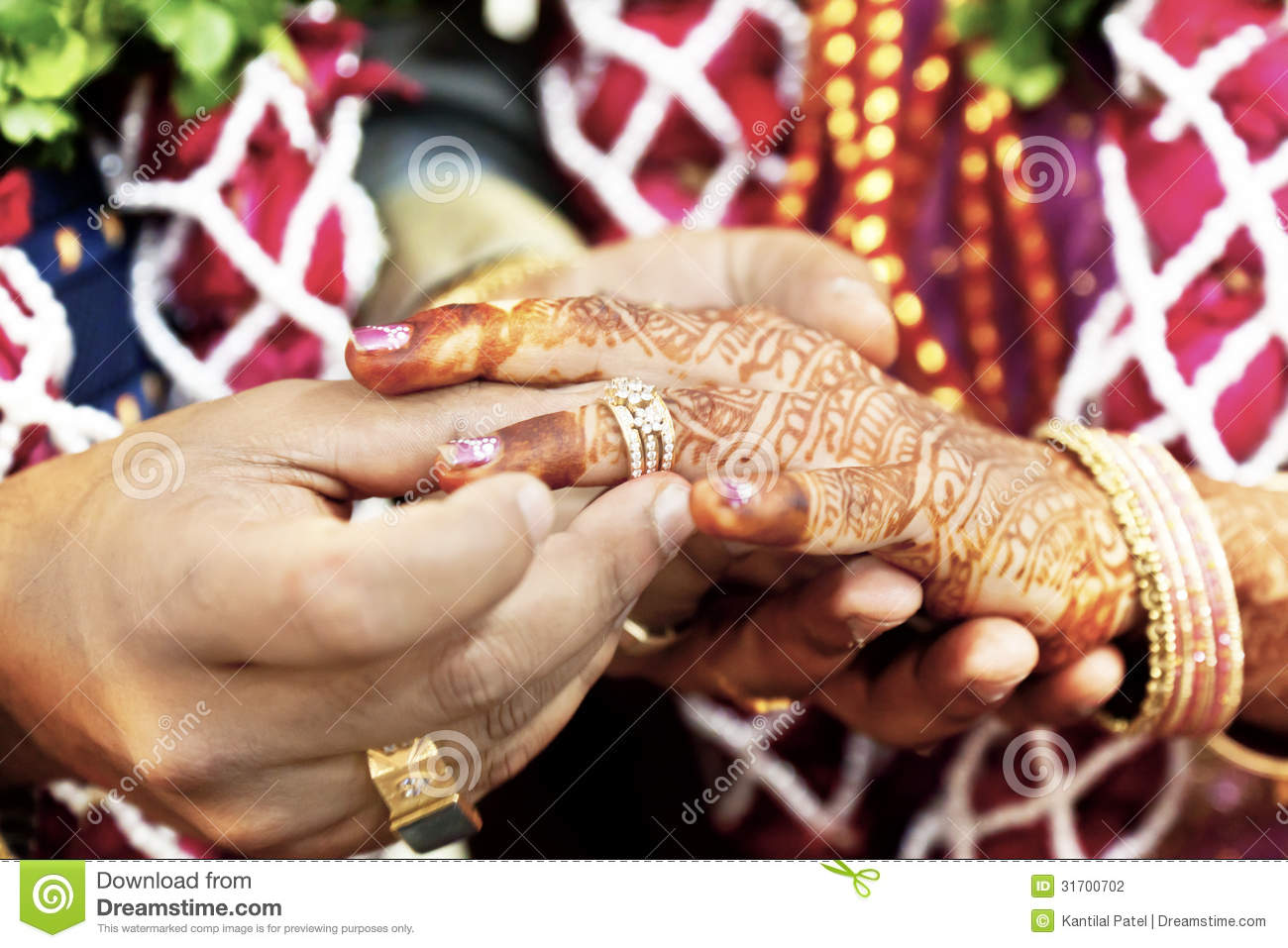 great hindu wedding with this ring i thee stock photo image 31700702. Black Bedroom Furniture Sets. Home Design Ideas