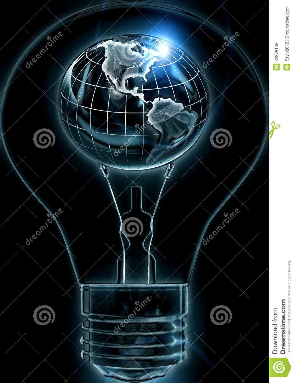 Great Ideas Can Move The World Stock Illustration Image