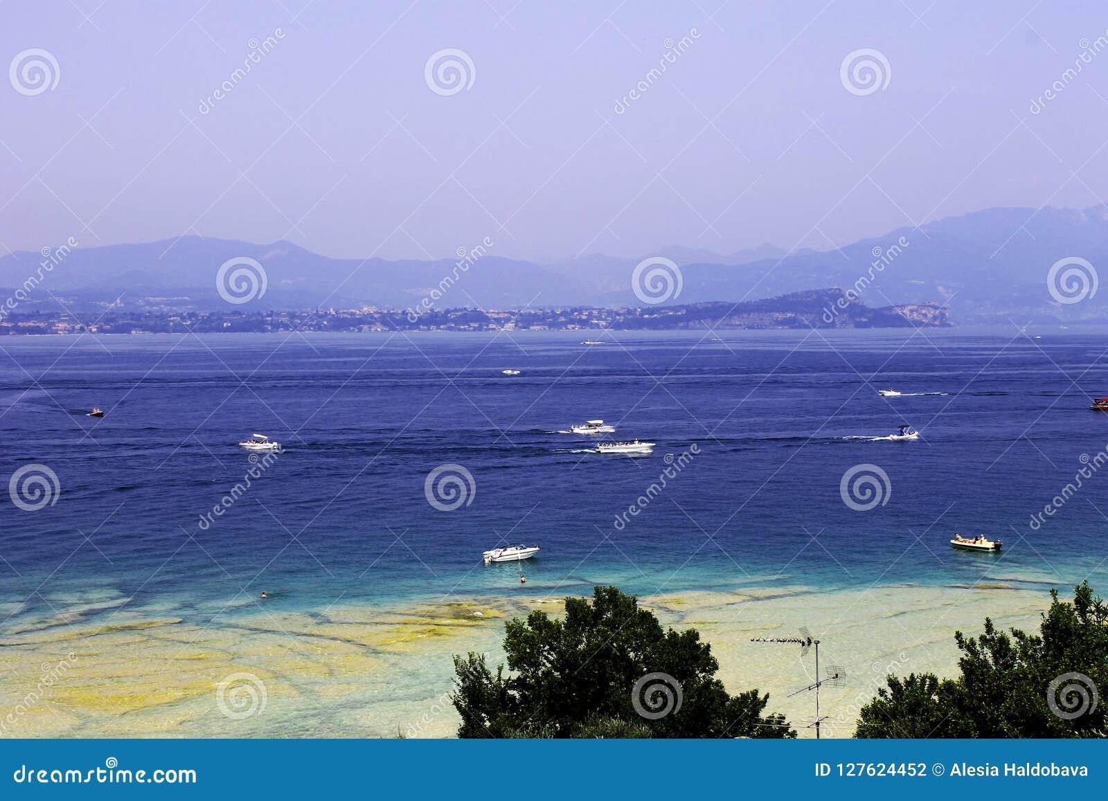 Resort at lake Garda