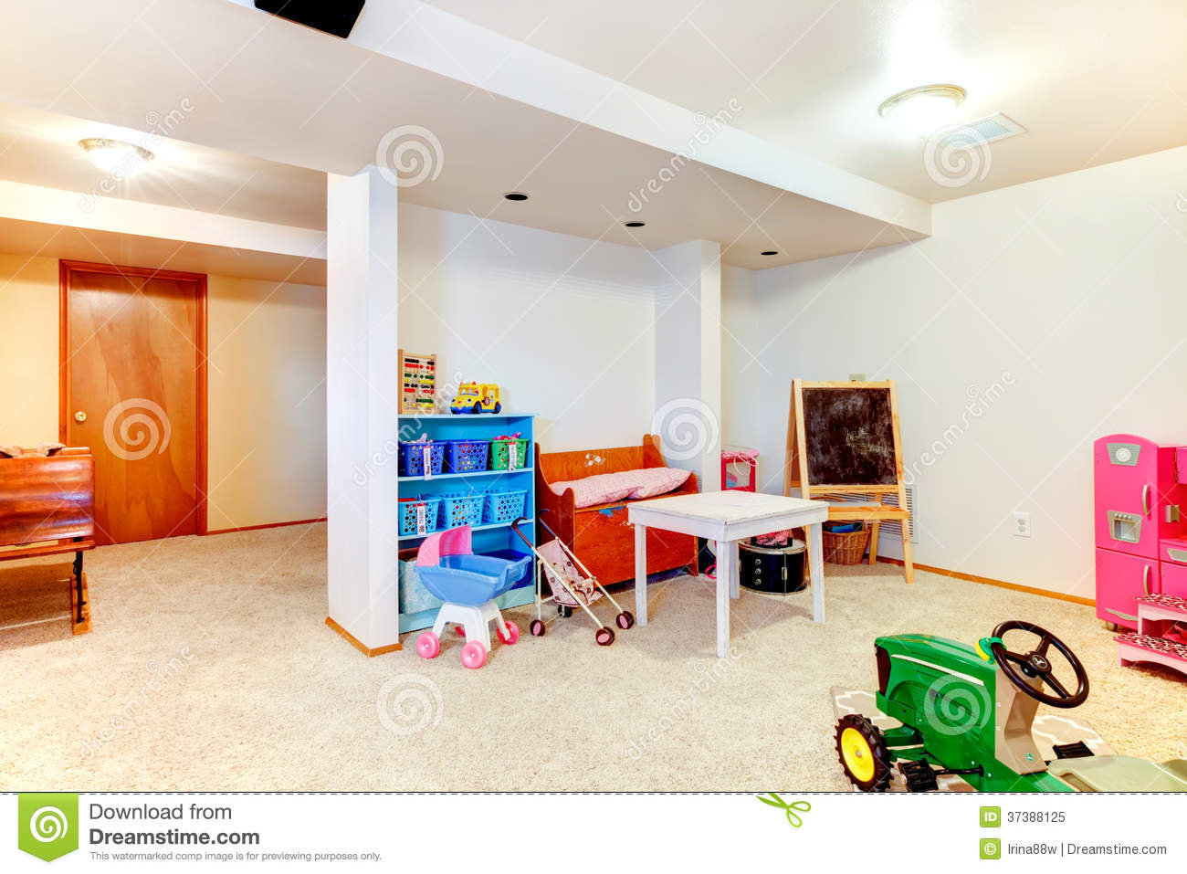 Great kids room with toys royalty free stock photo image for Well designed bedrooms