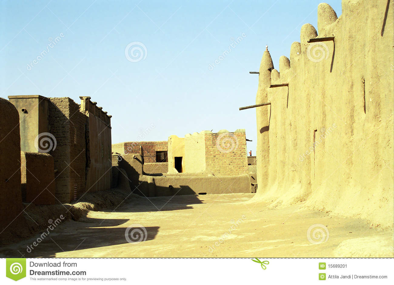 The Great Mosque, Djenne, Mali