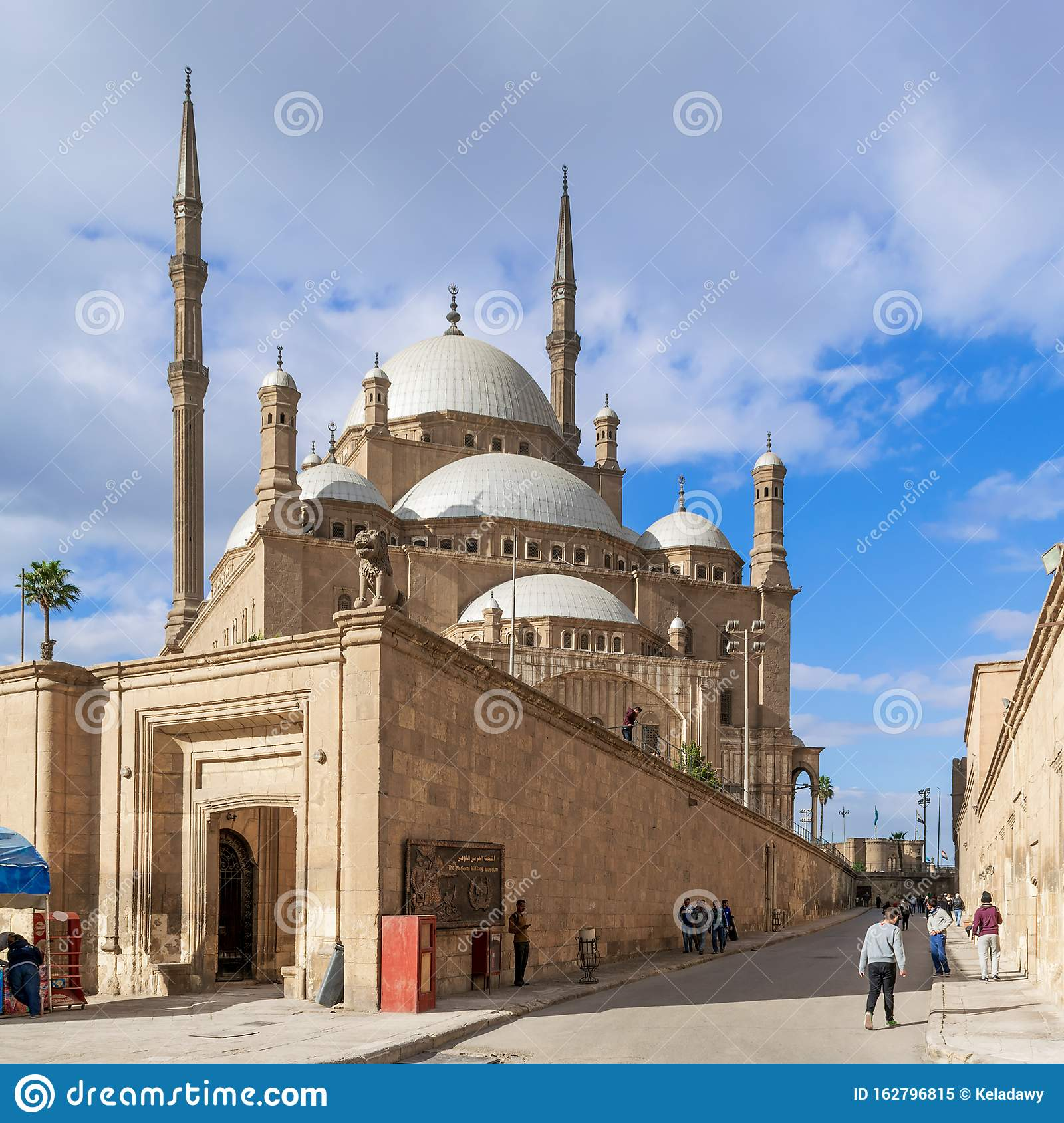 The great Mosque of Muhammad Ali Pasha - Alabaster Mosque - Citadel of Cairo, Egypt