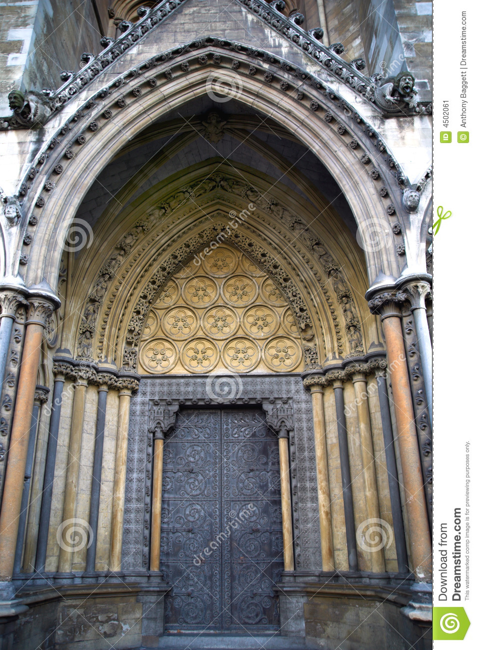 Royalty-Free Stock Photo. Download Great North Door Westminster Abbey ... & Great North Door Westminster Abbey Stock Image - Image: 4502061 pezcame.com