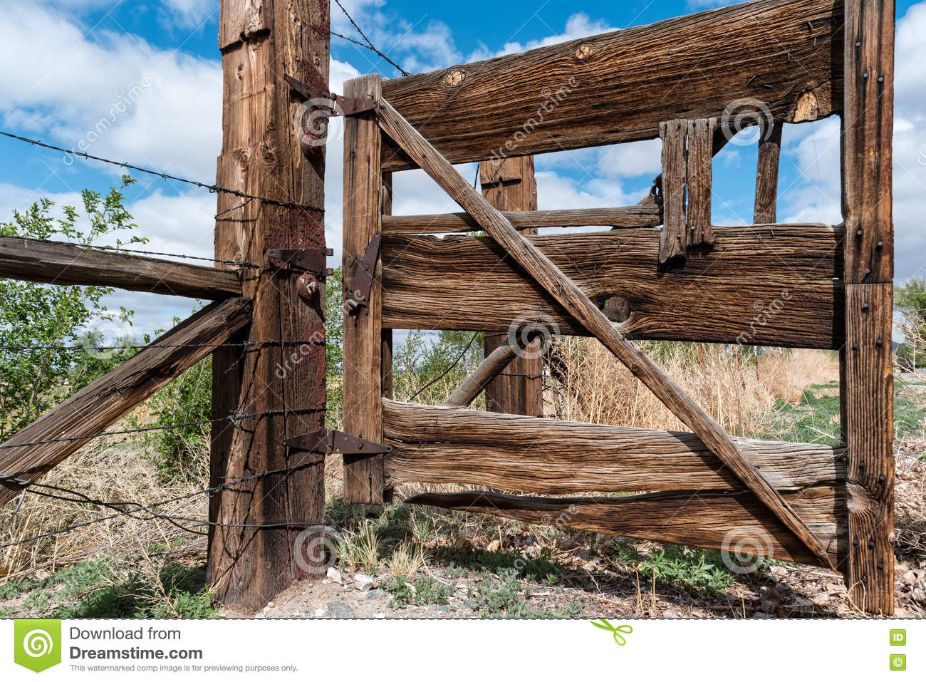 Great old ranch gate
