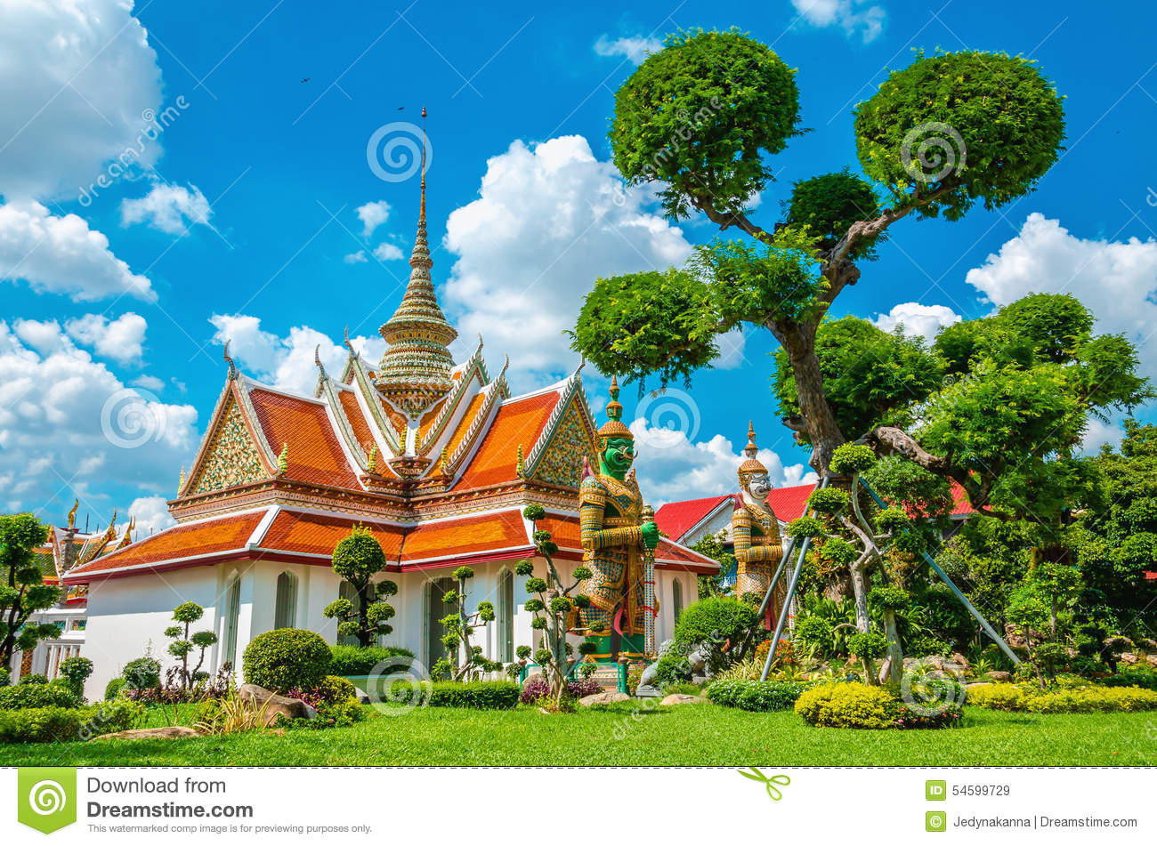 Great Palace Buddhist temple in Bangkok, Thailand