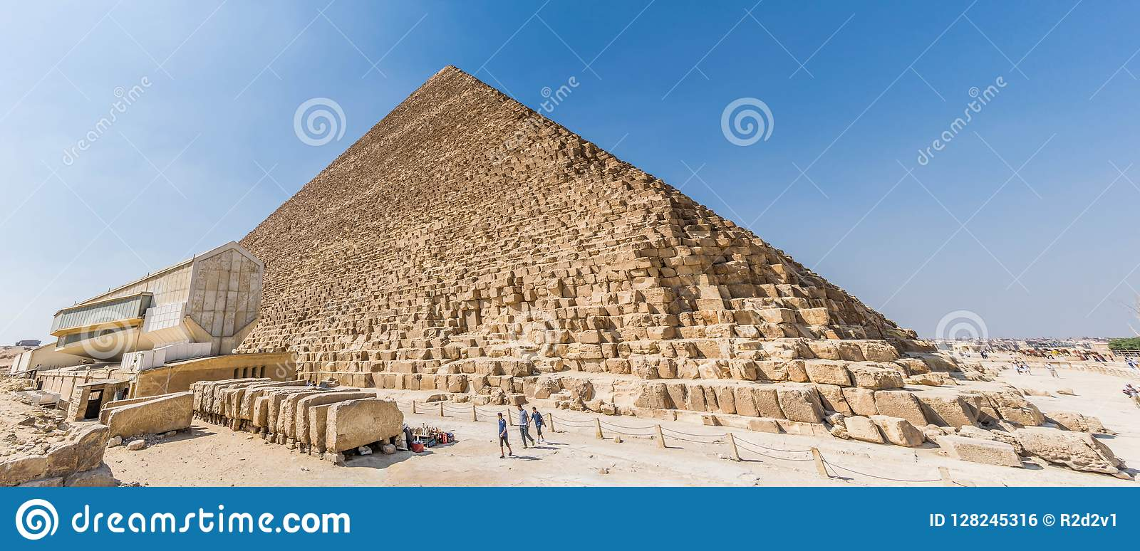 The Great Pyramid of Giza editorial photo  Image of complex