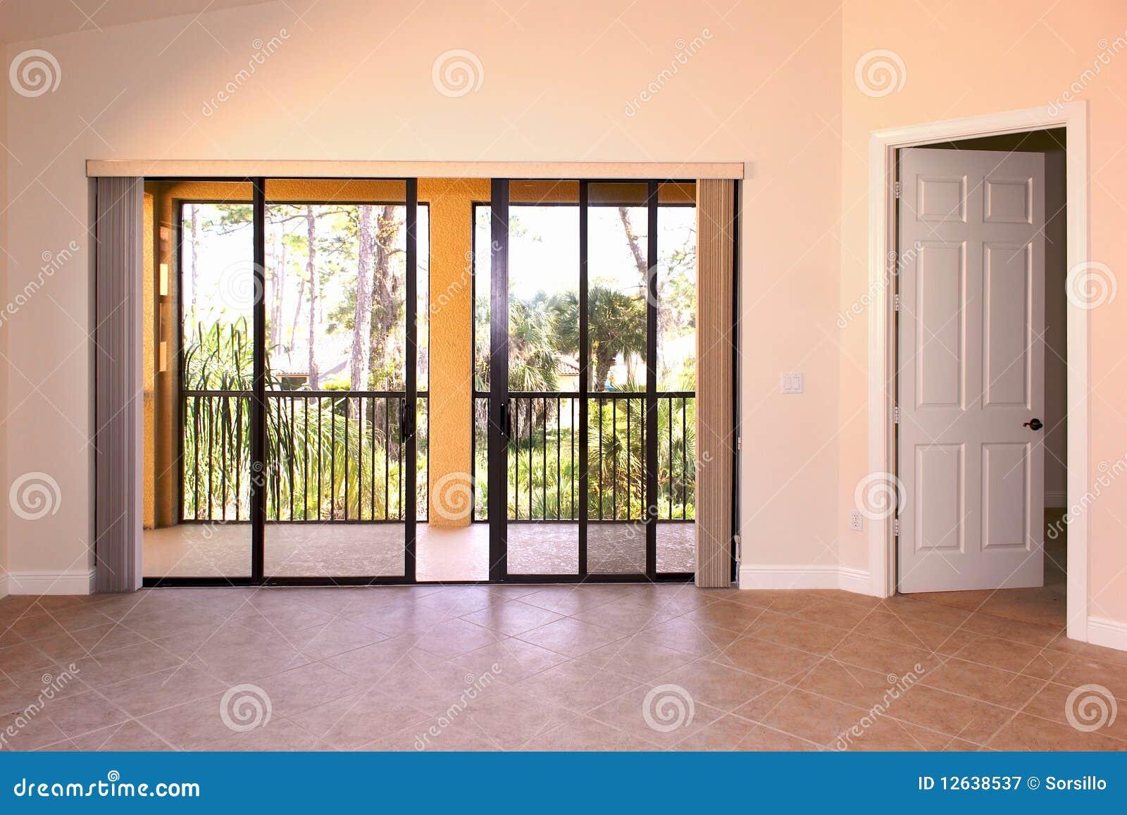 Great Room With Doors Stock Image Image Of Home Door 12638537