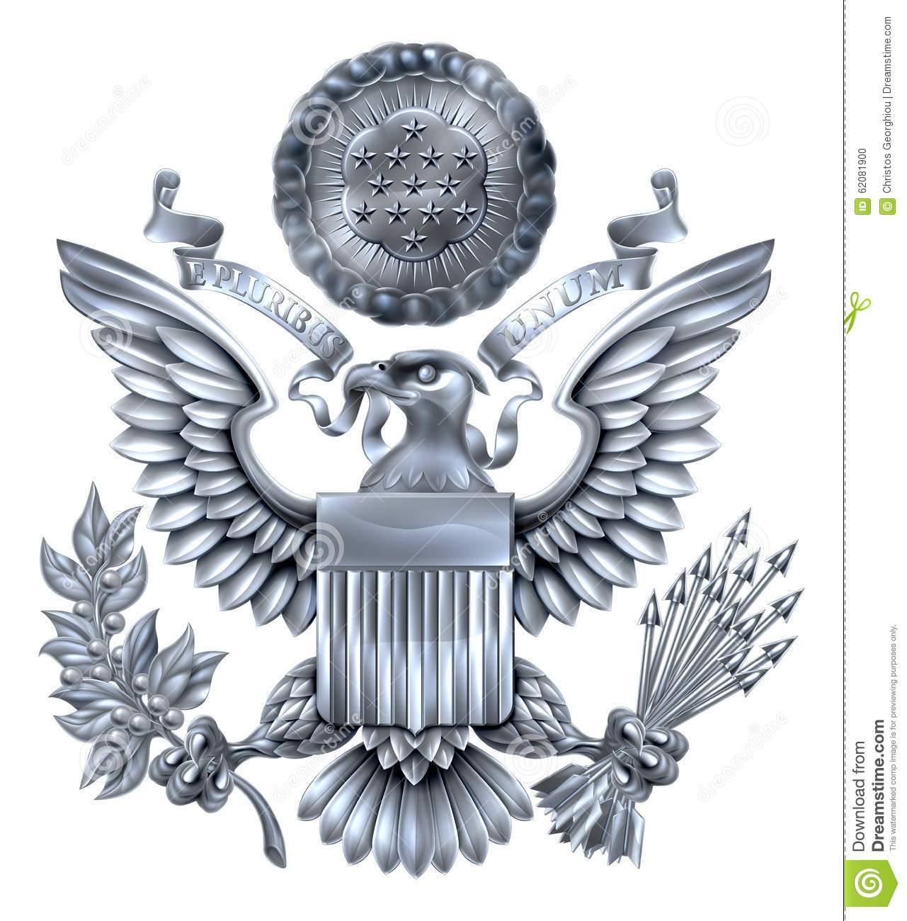 Great Seal of t... Eagle Logo Design