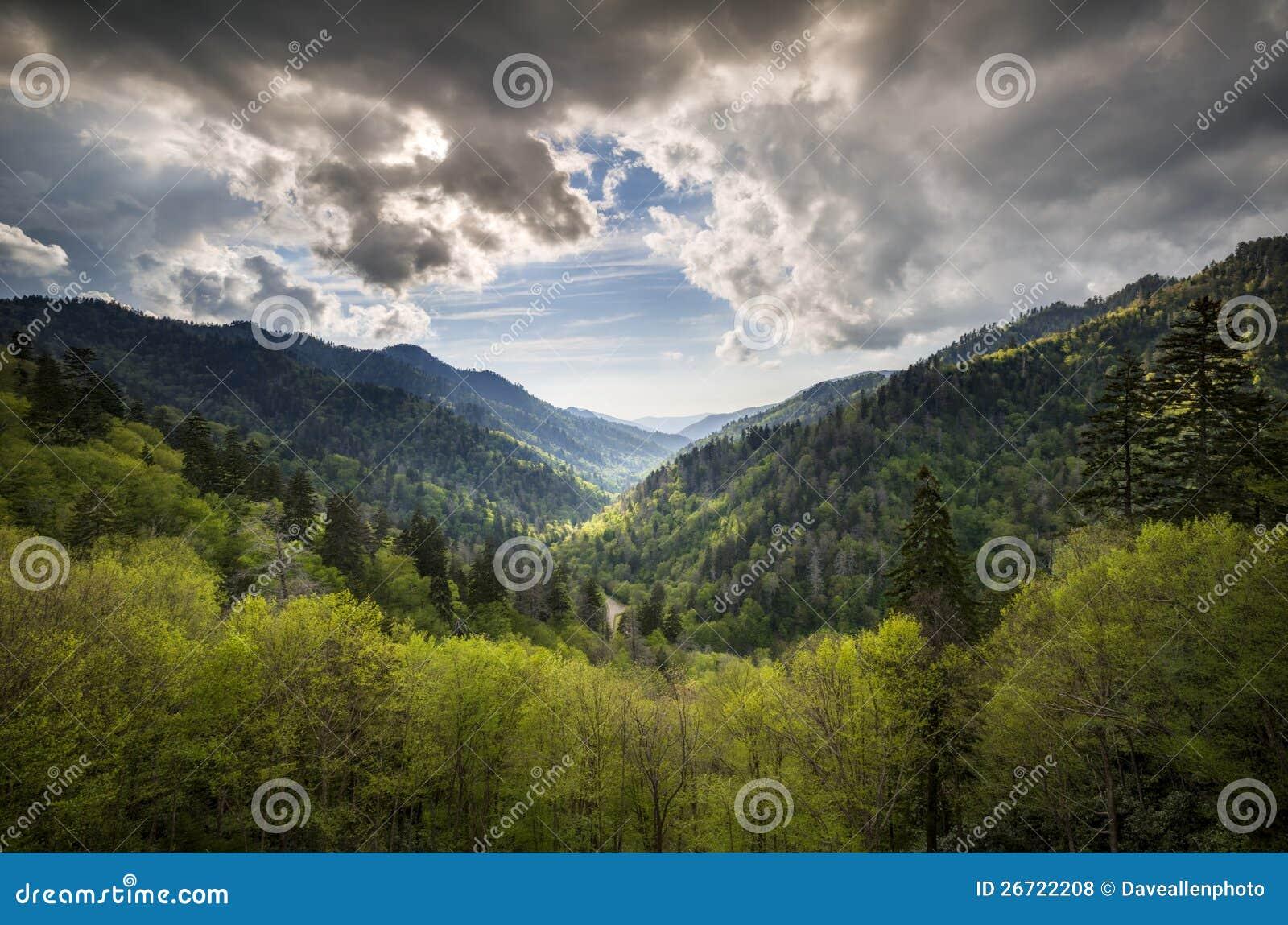 Gatlinburg TN Great Smoky Mountains National Park Royalty Free ...