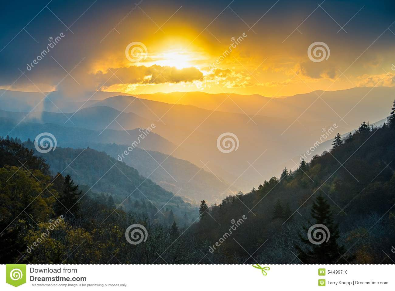 Great Smoky Mountains at Sunrise