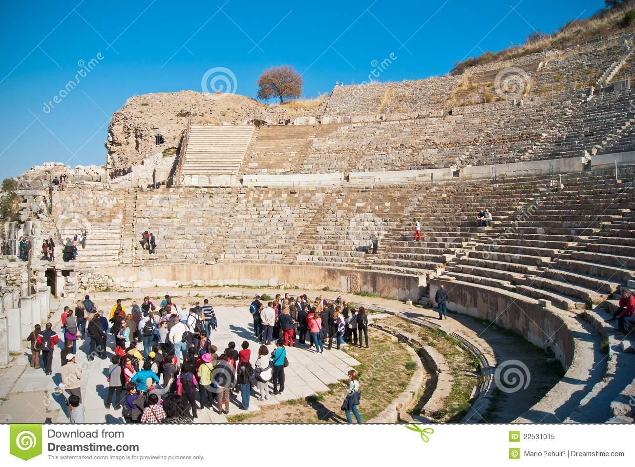 Great Theatre In Ephesus Editorial Image - Image: 22531015