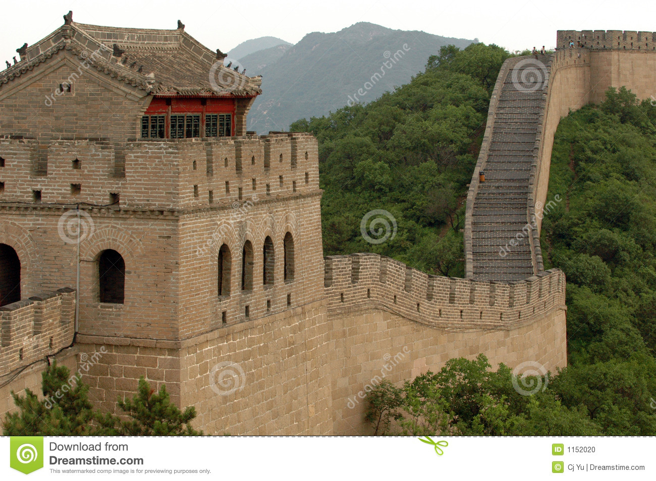 The great wall of china stock photo image of travel for A grande muralha da china