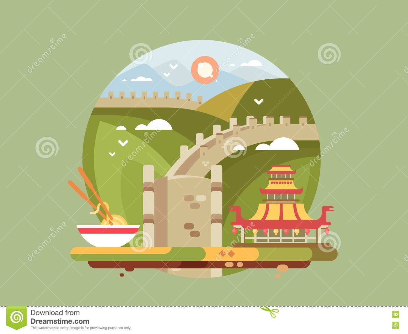 Old Fashioned Great Wall Of China Project Ideas Frieze - All About ...