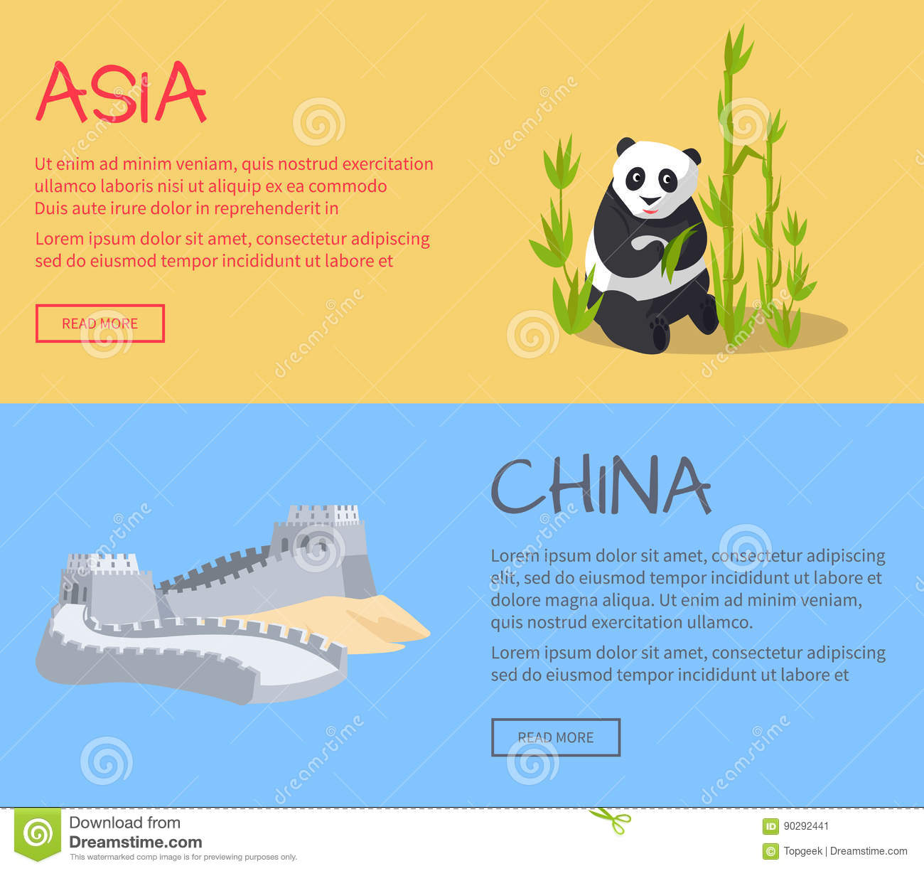 Great Wall Of China. Part Of Ancient Structure Stock Vector ...