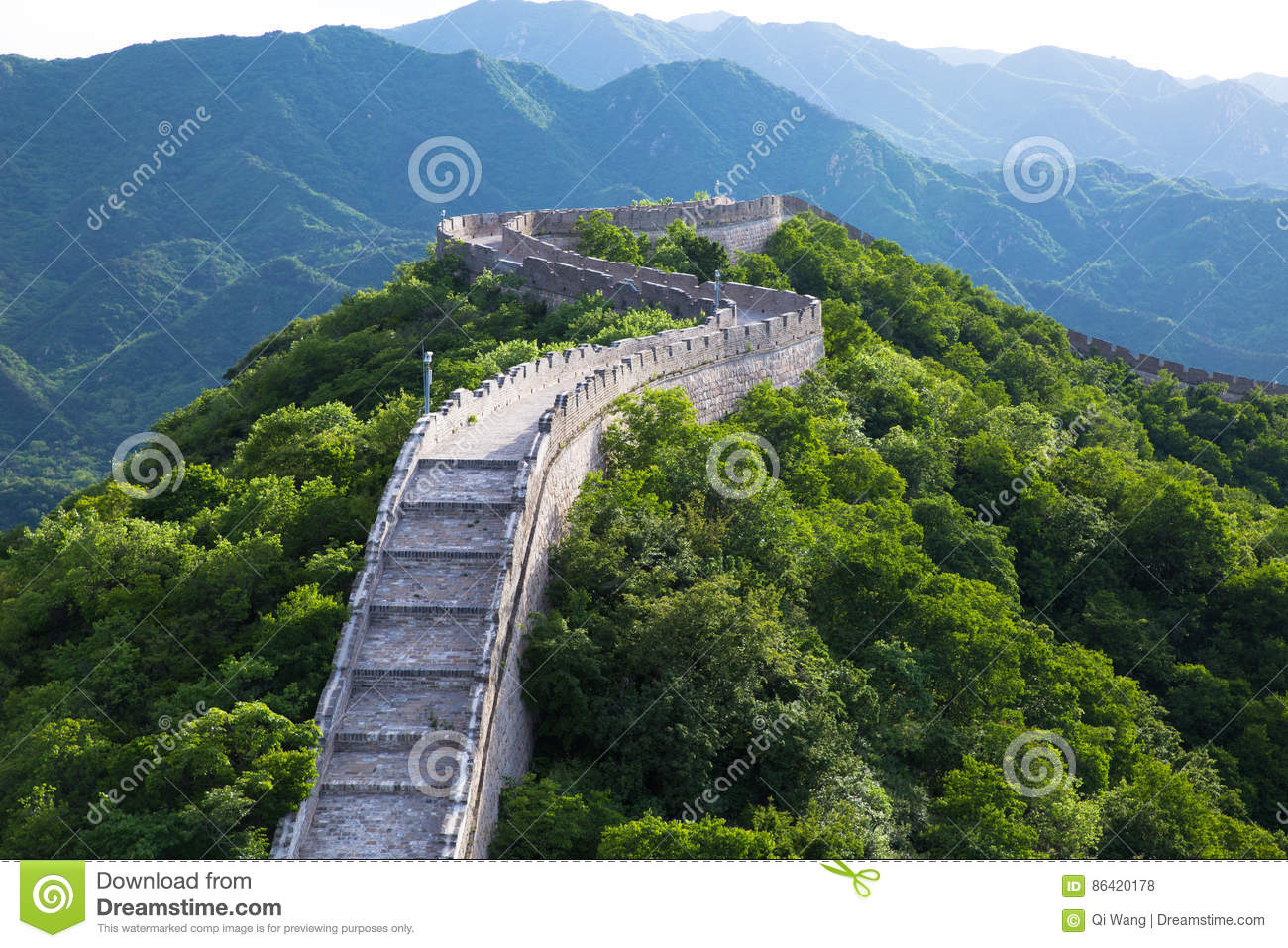 Great wall detail