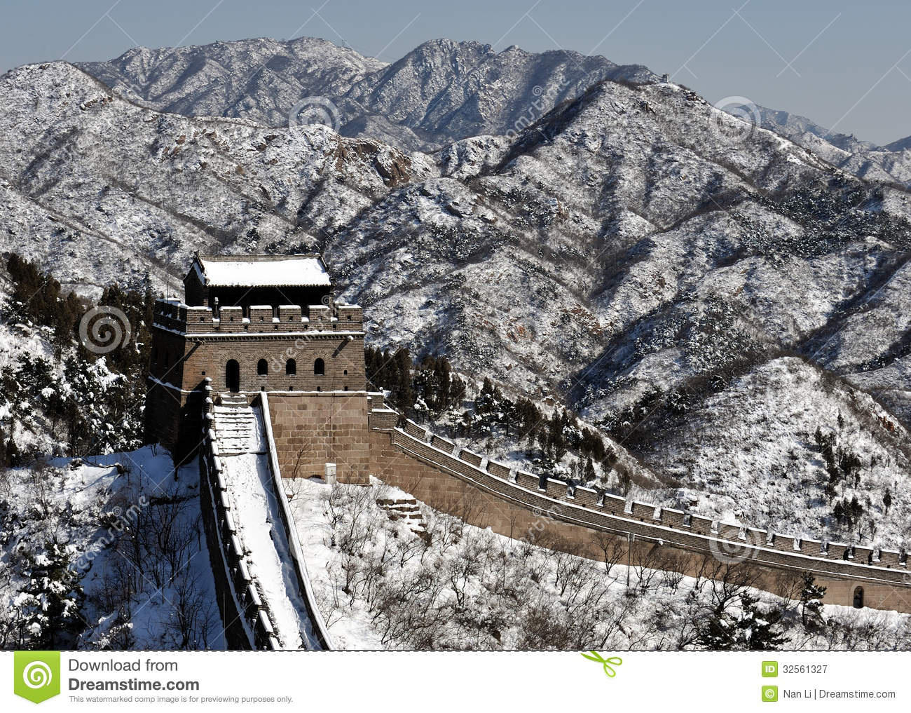 Badaling section of Great Wall in Beijing partly opens ... |Great Wall Badaling Weather