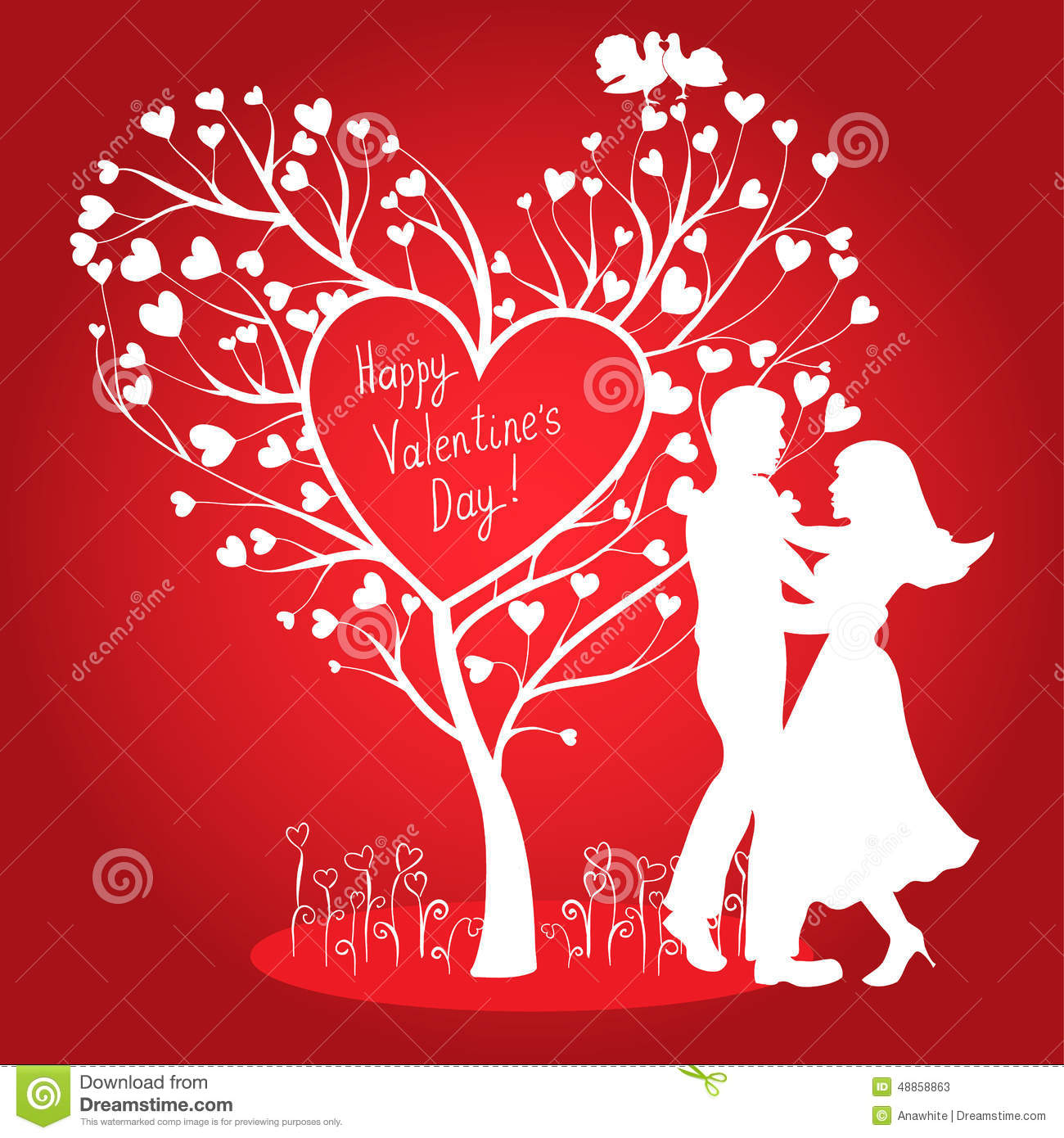 valentines day heart couple - photo #17