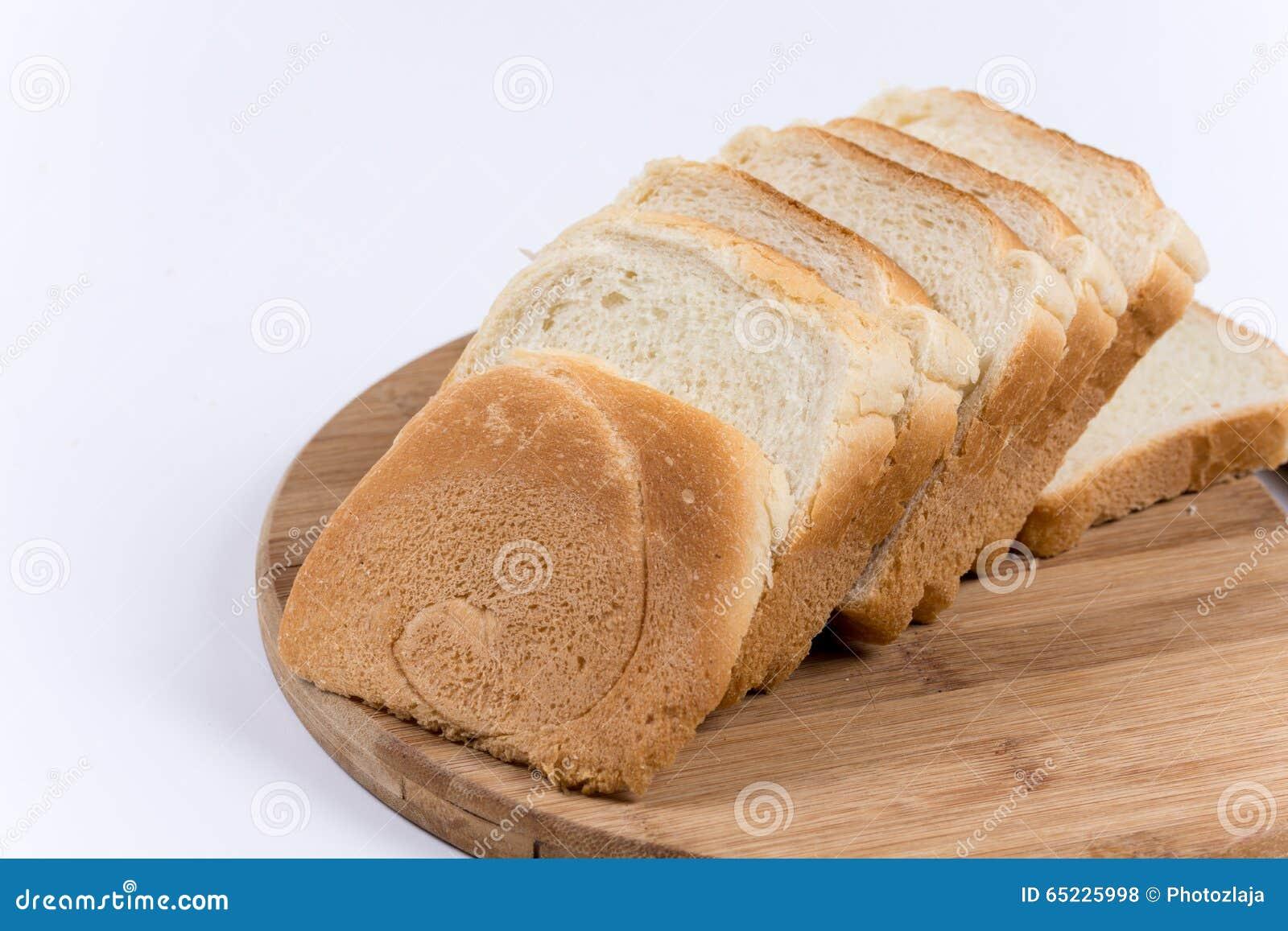 Greaves na plasterek grzanki chlebie