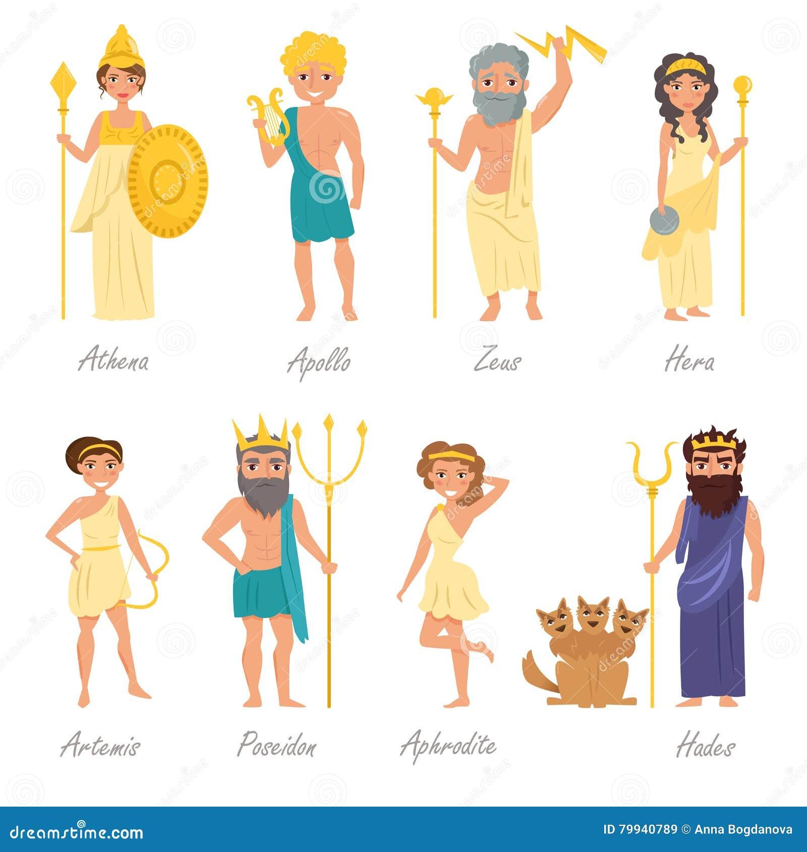 Stammbaum Der Griechischen Götter Des Olymps