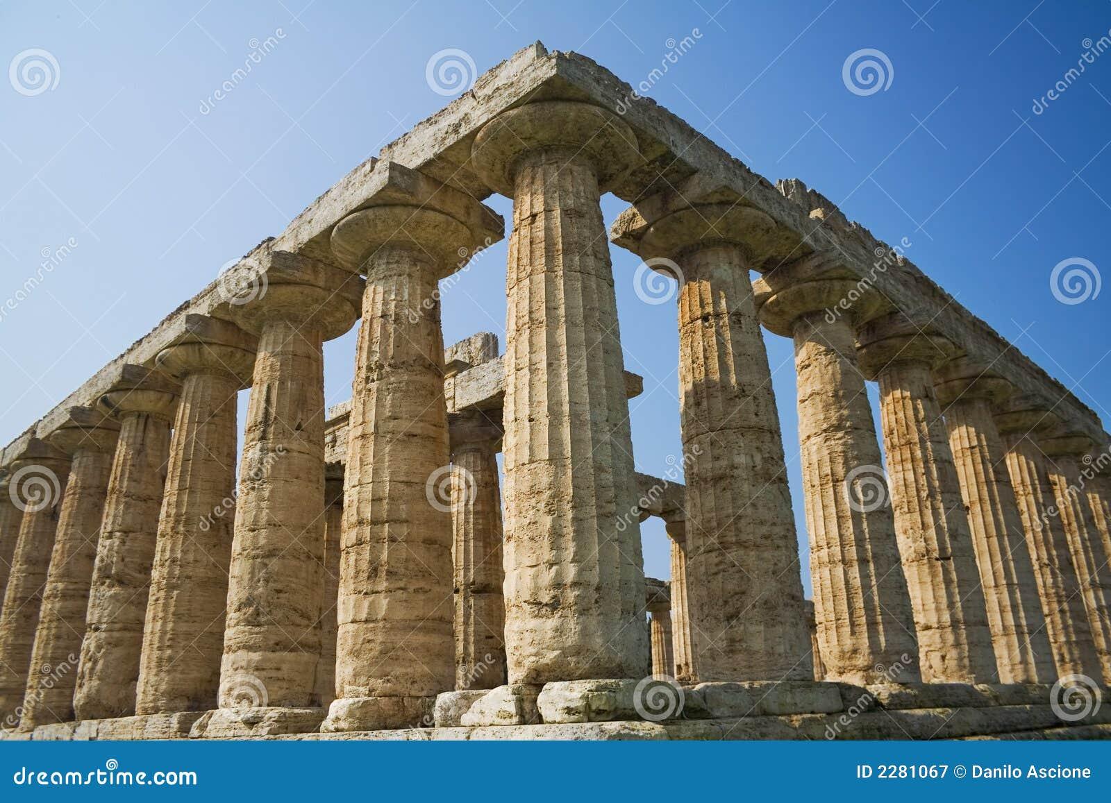 Grecka świątyni
