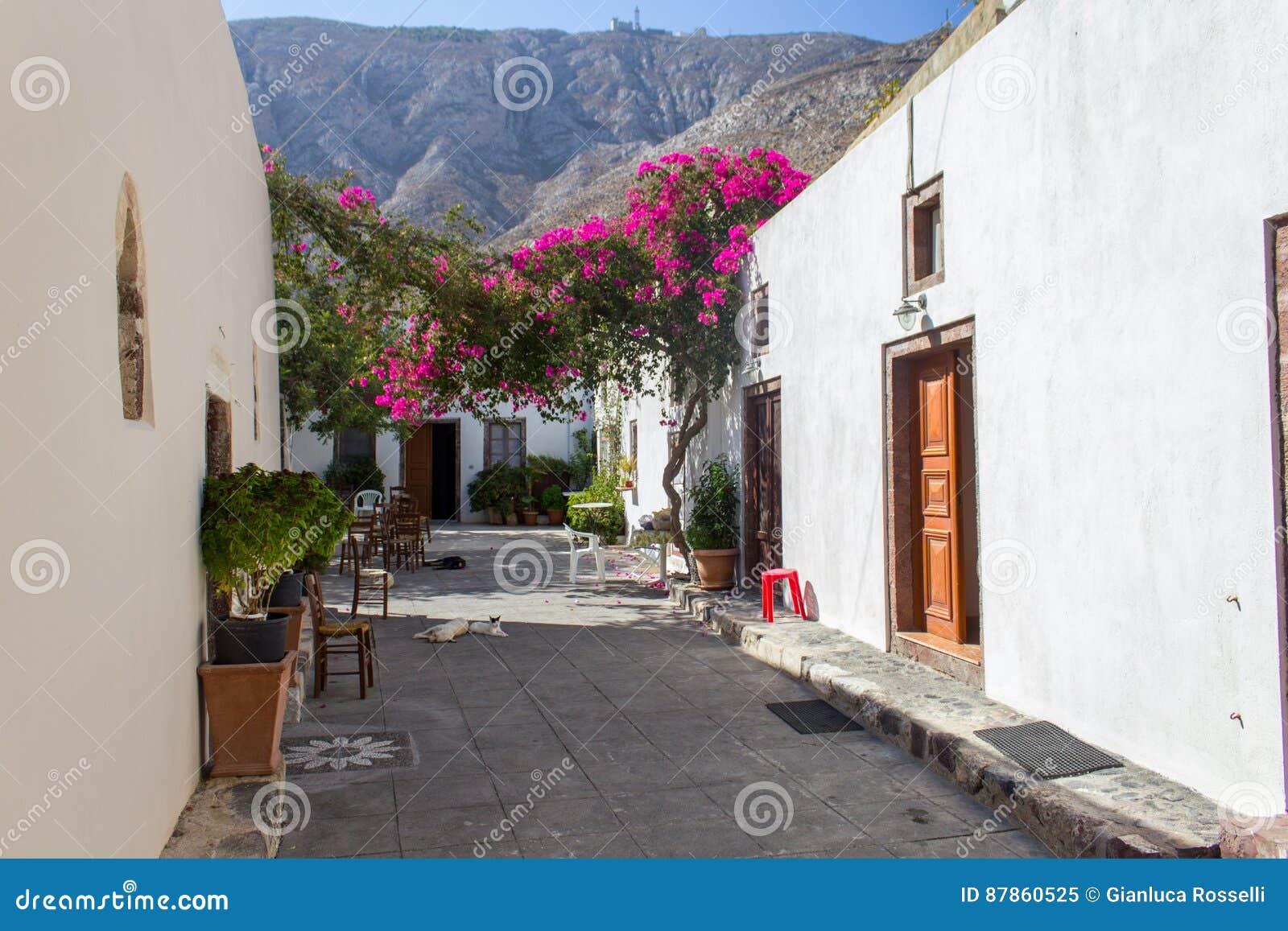Grecki podwórze